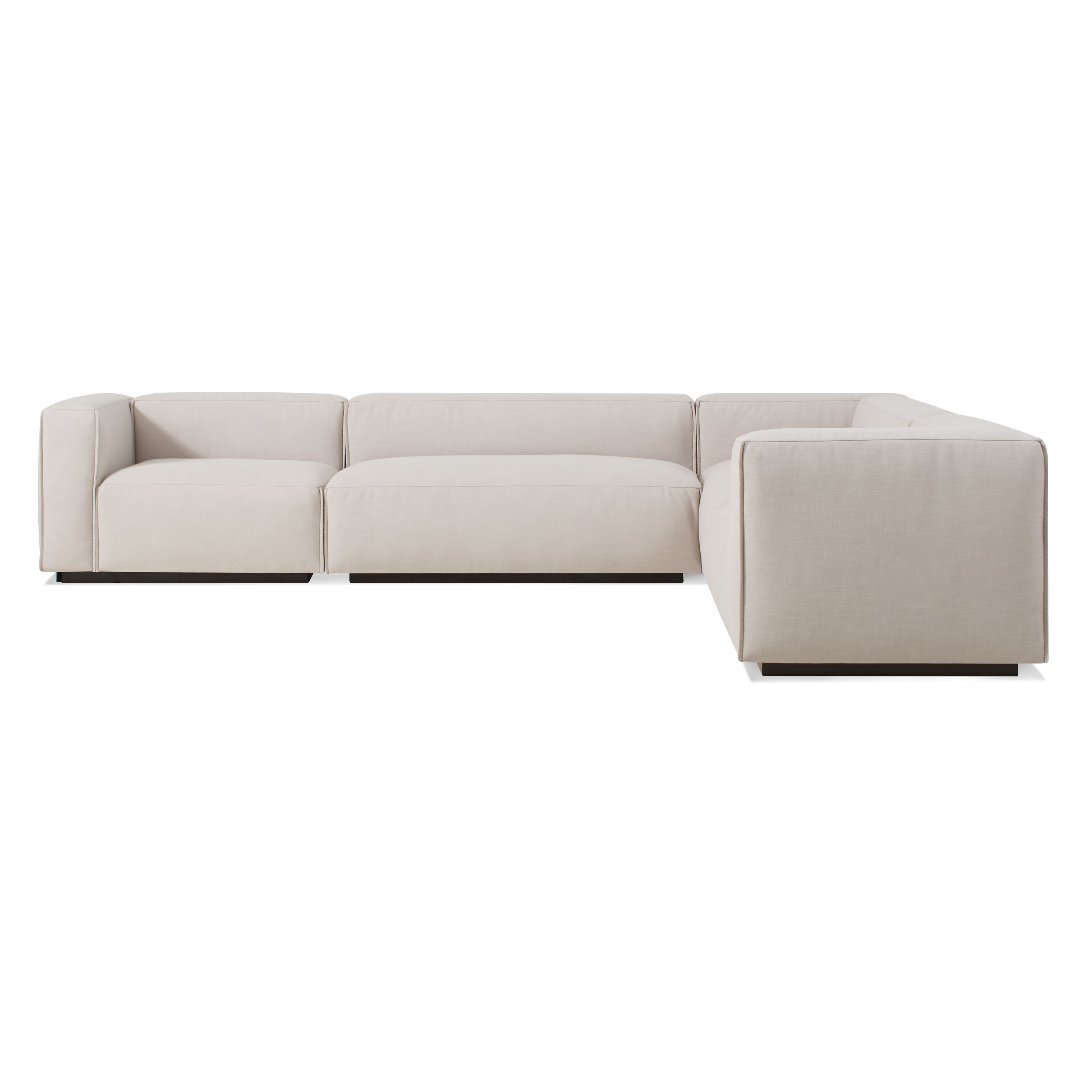 Cleon Large Modern Sectional Sofa (View 3 of 15)