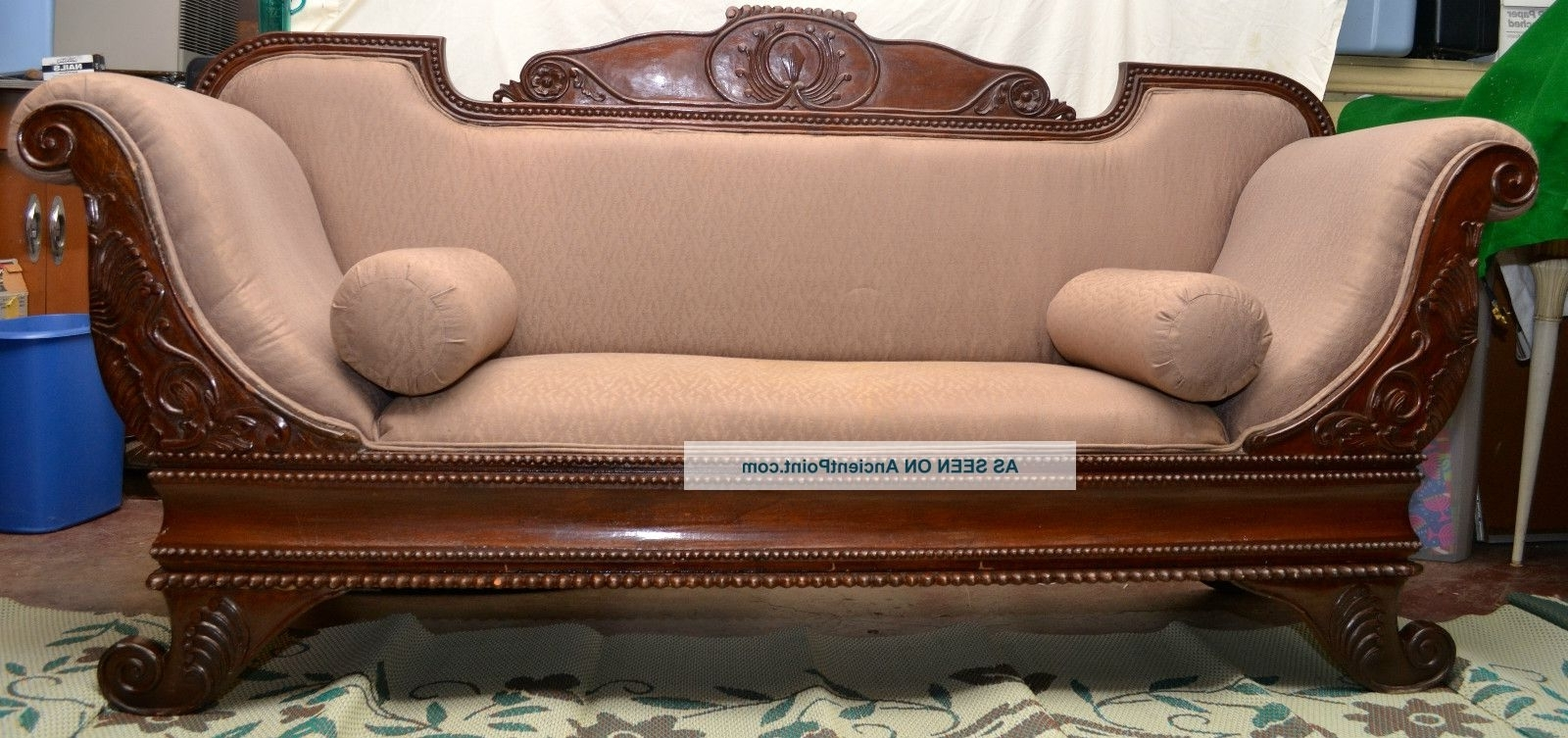 Cleopatra Gothic/old West/victorian Sofa 1800 1899 Photo With Preferred Gothic Sofas (View 2 of 15)