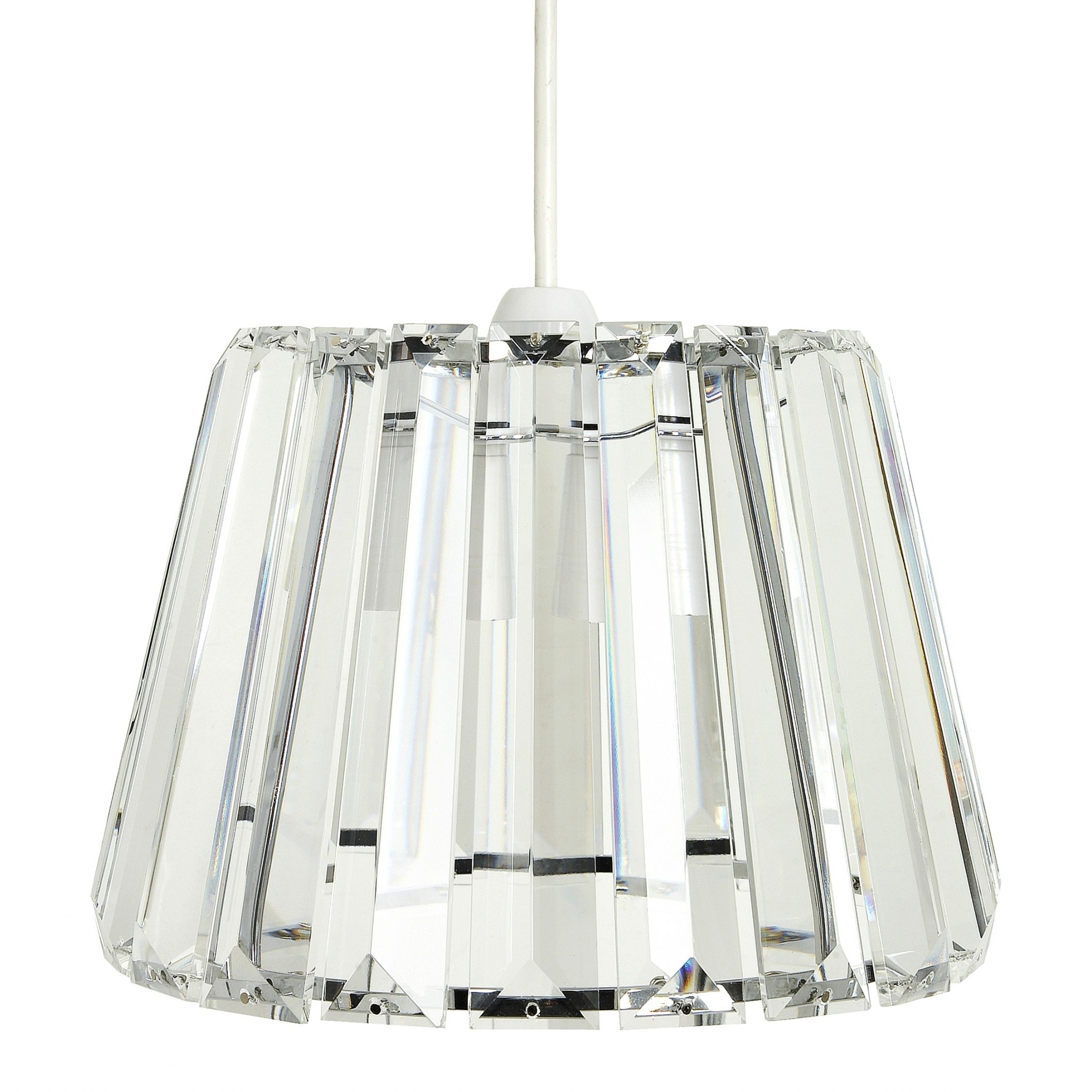 Clip On Chandelier Shades (View 3 of 15)