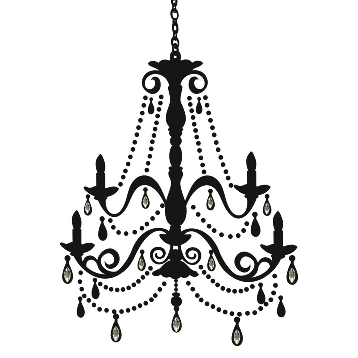 Clip On Chandeliers With Regard To Famous Chandelier Clipart Png – Musethecollective (View 11 of 15)