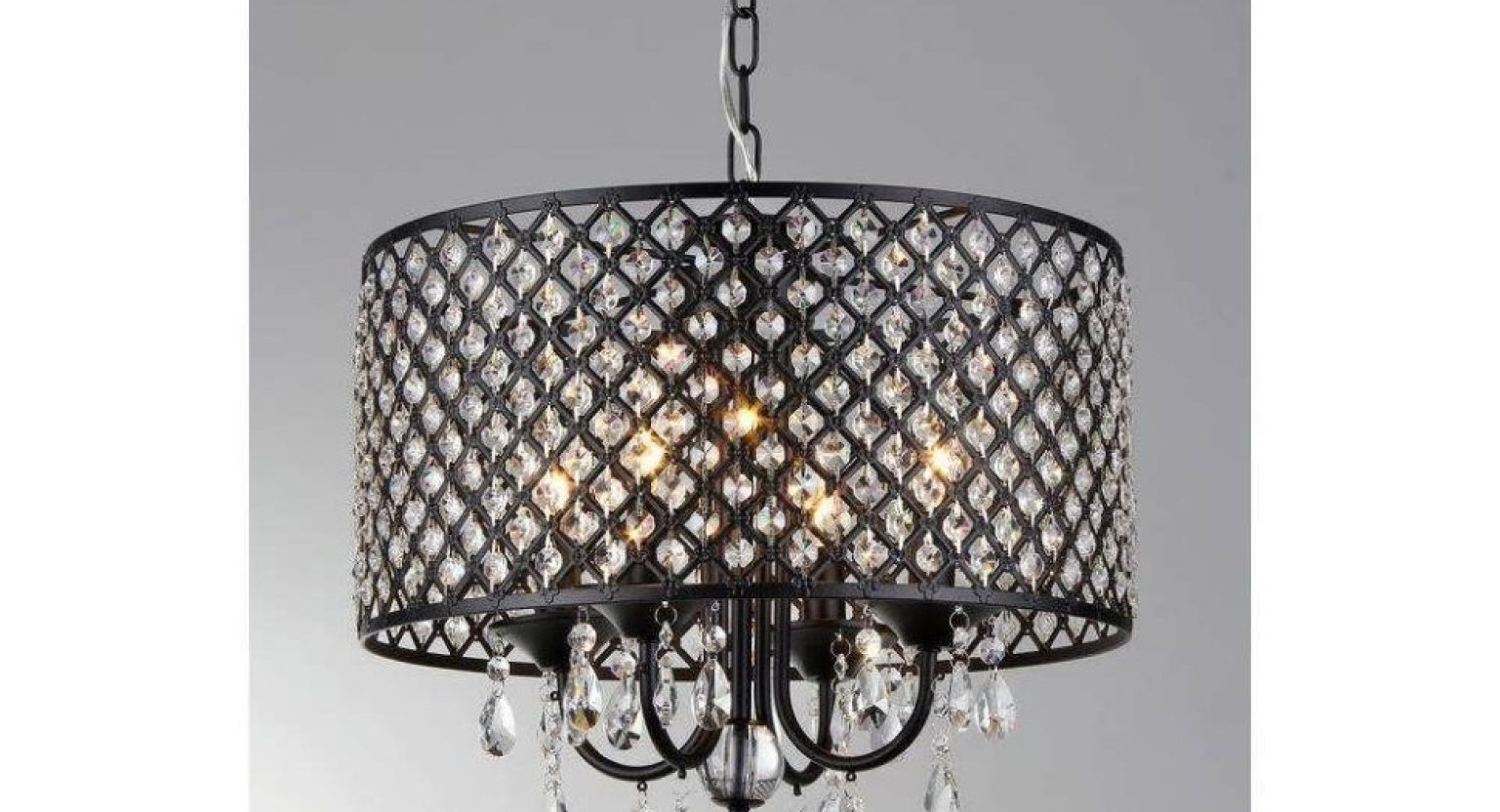 Clip On Drum Chandelier Shades For Fashionable Cool Large Drum Shade Chandelier Tags : Clip On Drum Chandelier (View 4 of 15)