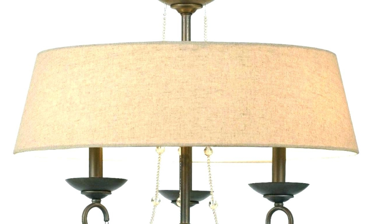 Clip On Drum Chandelier Shades Regarding Well Known Mini Drum Chandelier Shades Best Clip On Ideas Innovative Shade (View 5 of 15)
