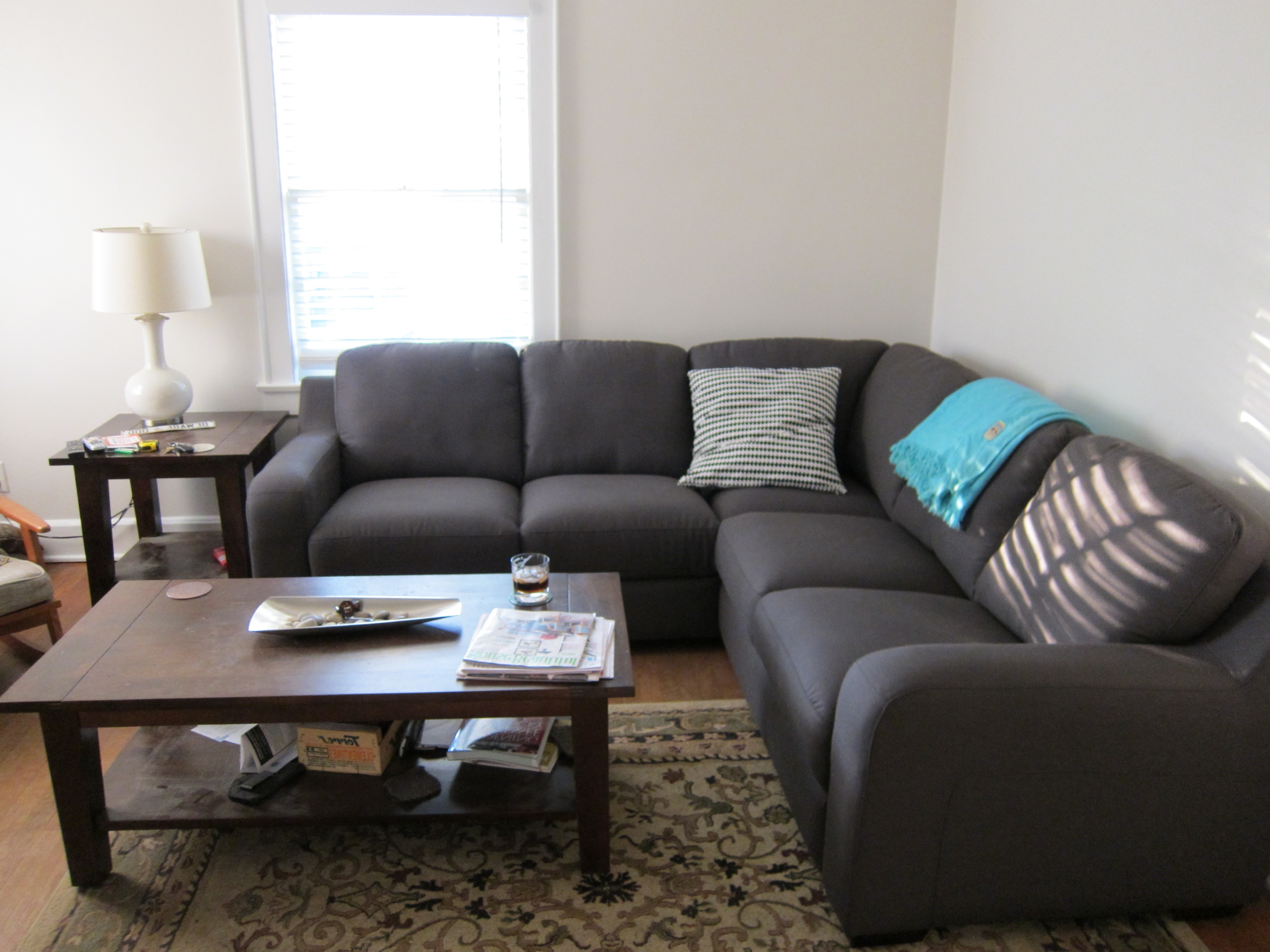 Coffee Tables For Sectional Sofa With Chaise In Latest Best Coffee Table For Sectional With Chaise – Laphotos (View 2 of 15)