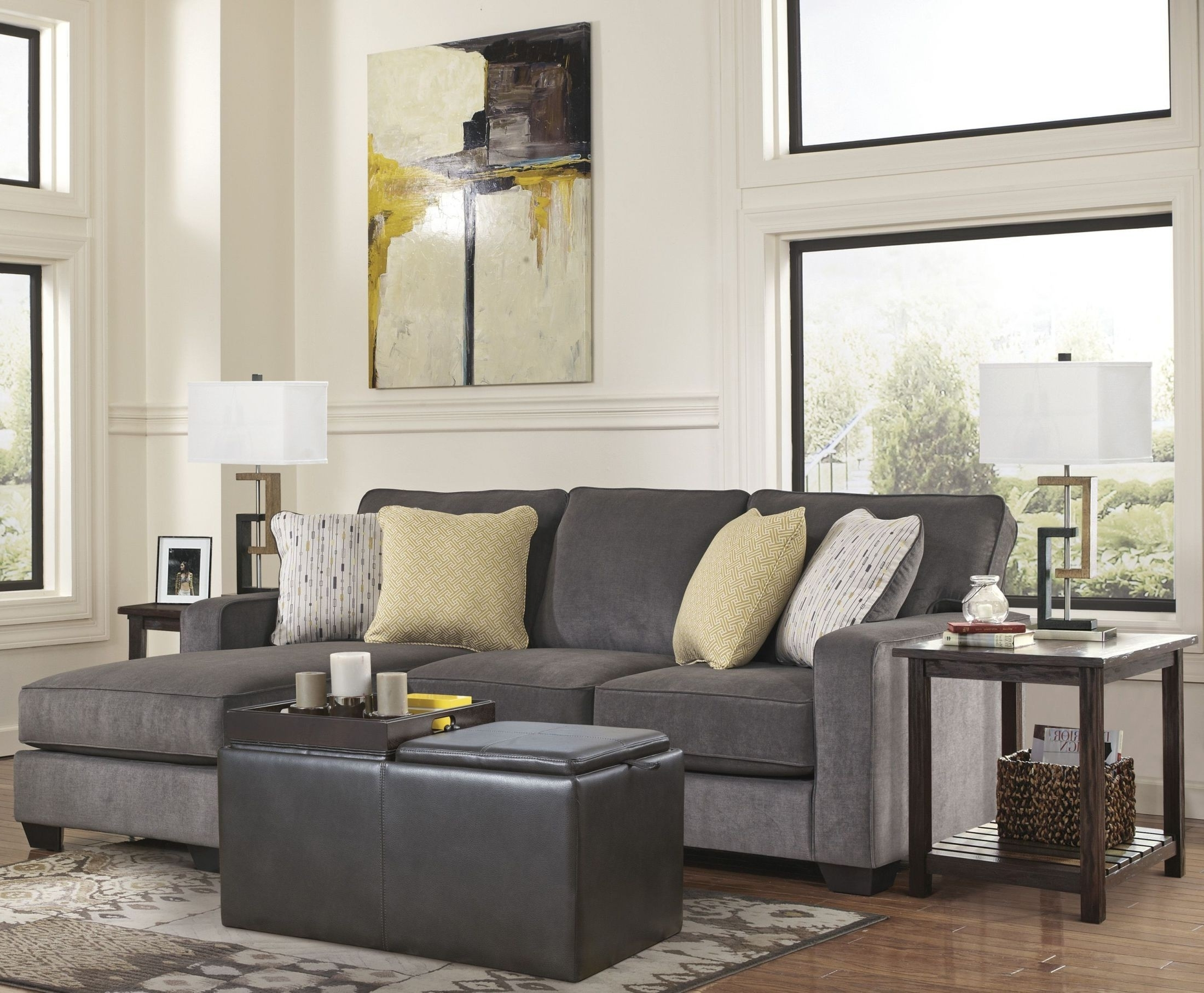 Coleman With Hodan Sofas With Chaise (View 11 of 15)