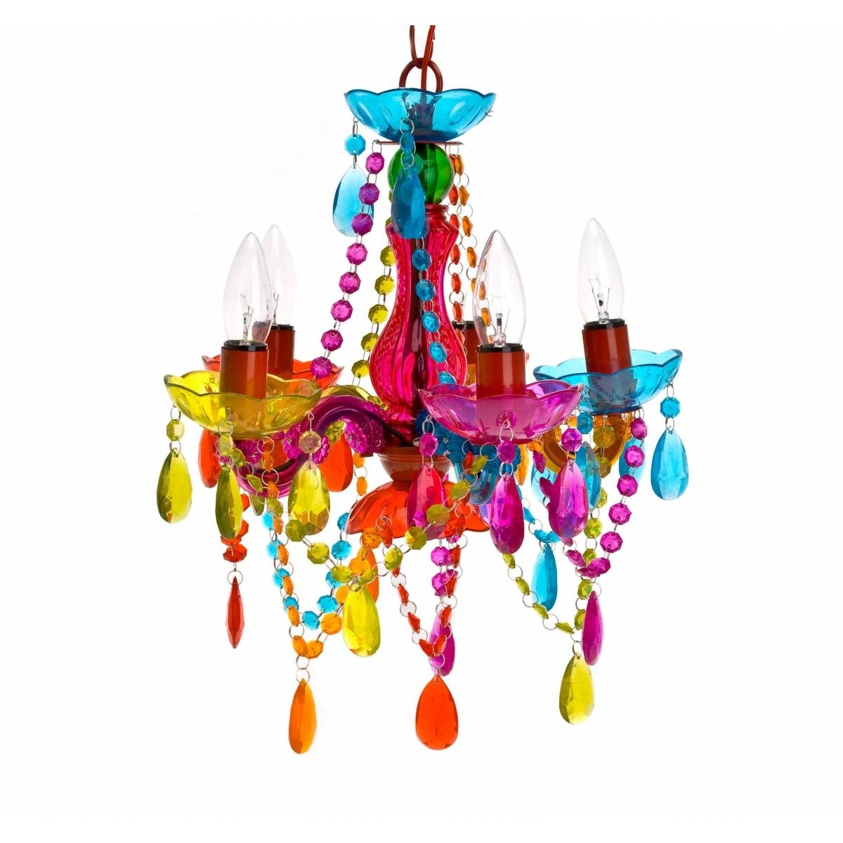 Coloured Chandeliers Within Popular Happy Anniversary, Studio 54! Decor Inspiration From The Club's Look (View 7 of 15)