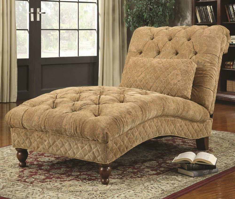 Comfortable Chaise Lounges In Widely Used Small Chaise Lounge – Unique Furniture For Comfortable Seating (View 14 of 15)