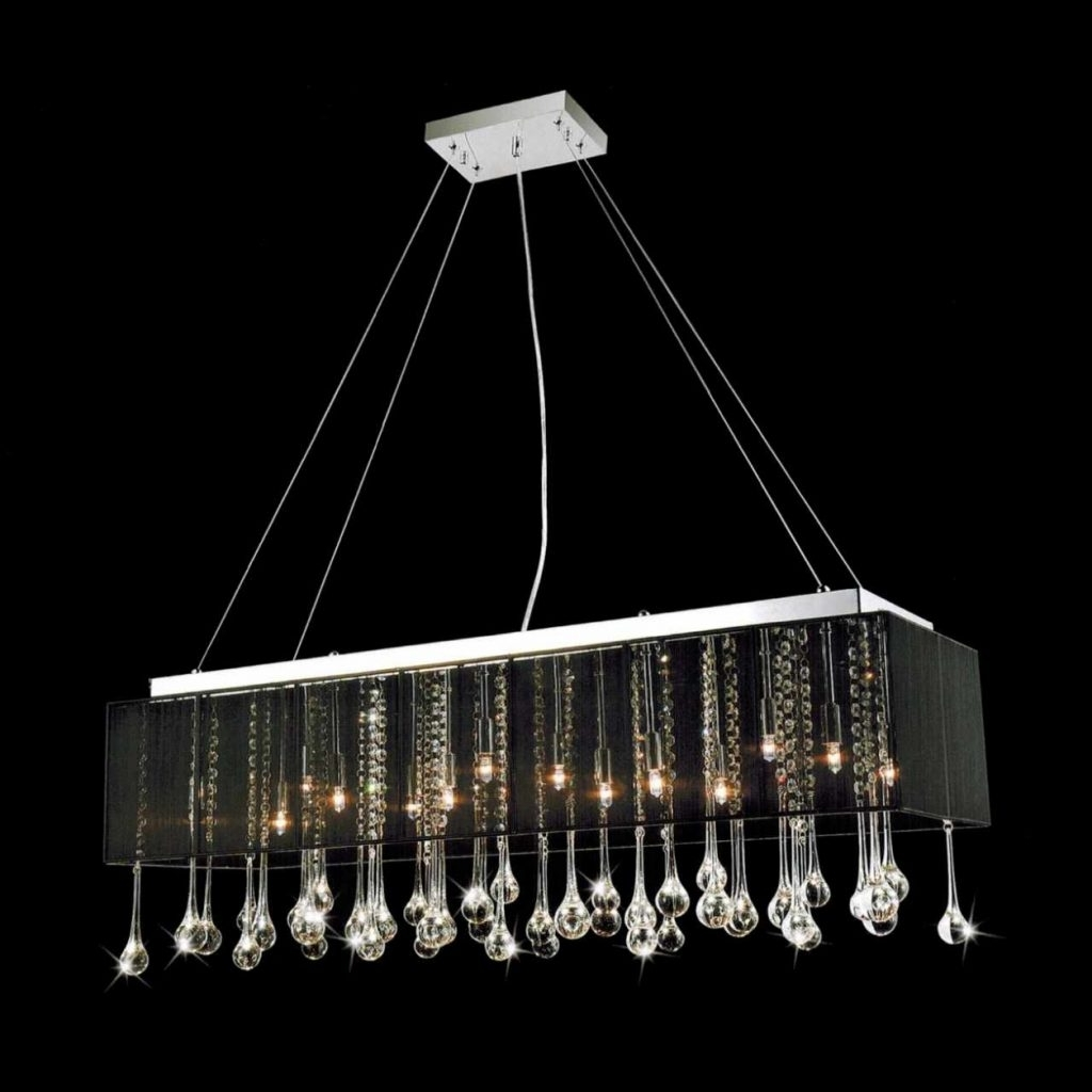 Contemporary Black Chandelier With Current Chandelier ~ Brizzo Lighting Stores (View 6 of 15)