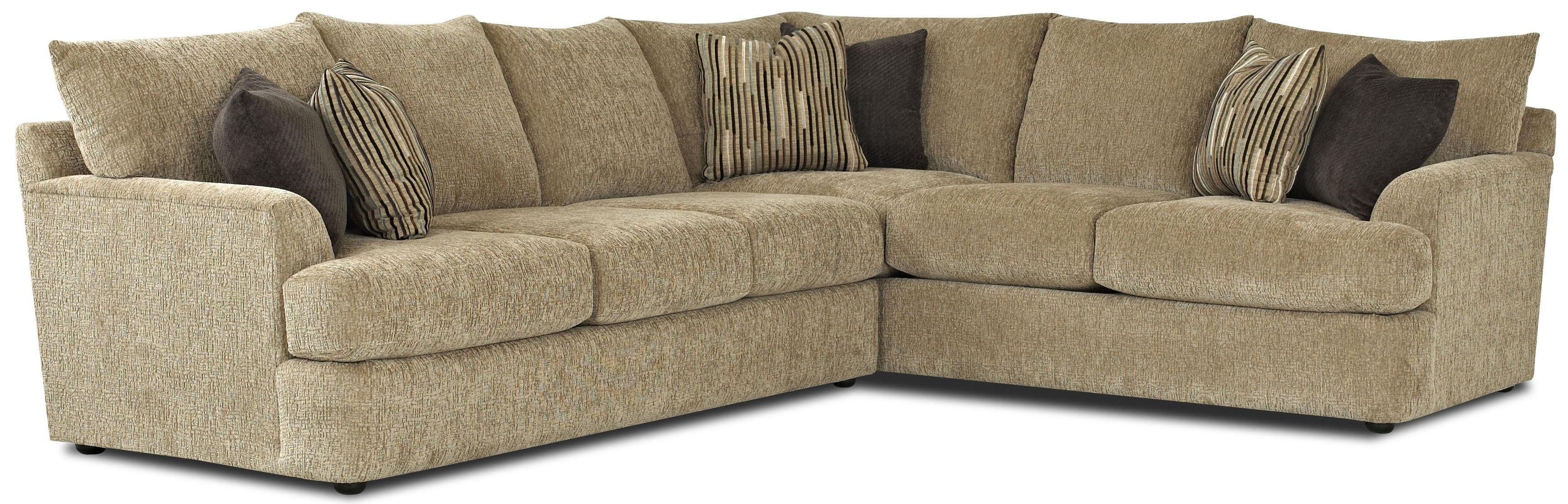 Contemporary L Shaped Sectional Sofaklaussner (View 6 of 15)