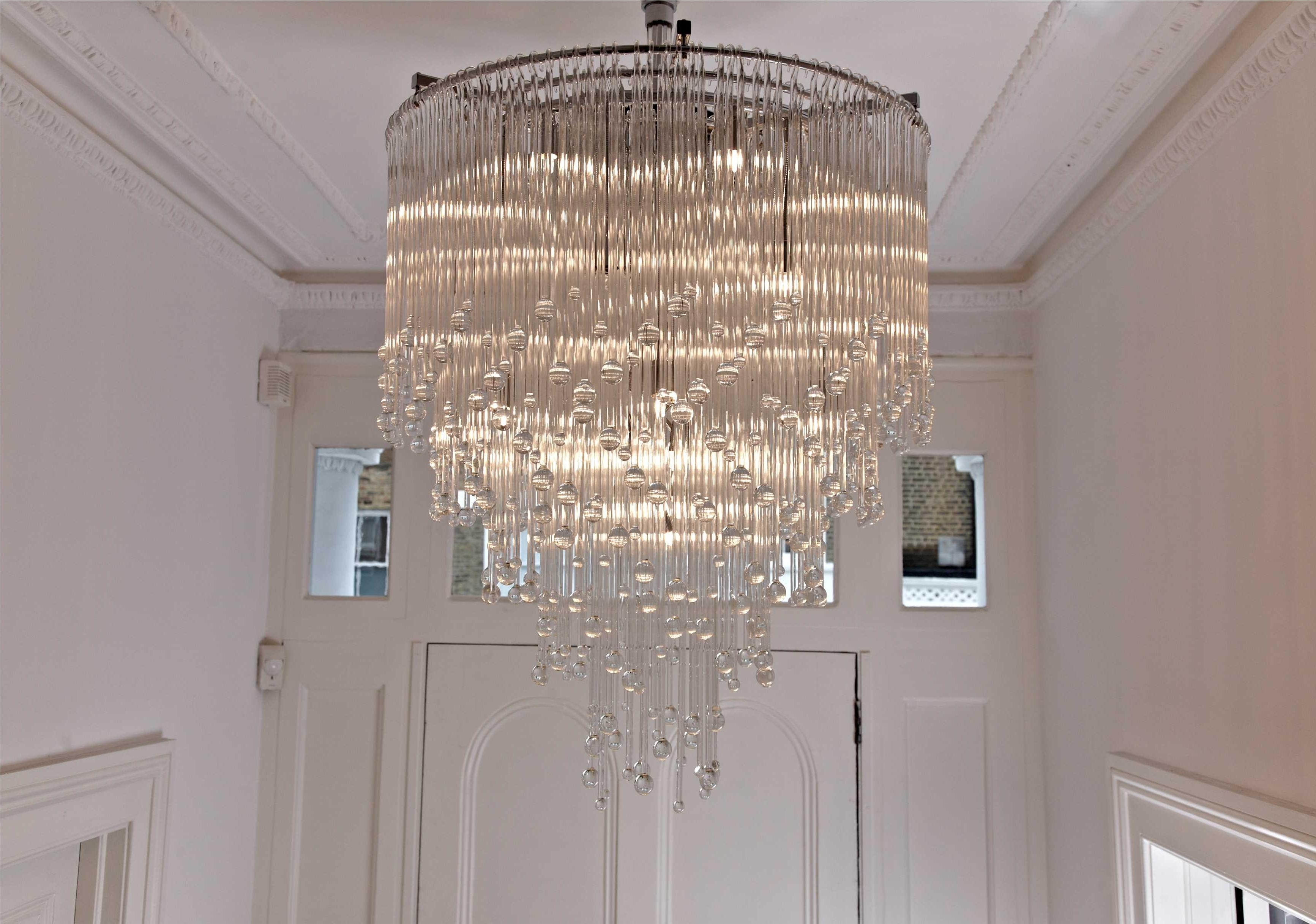 Contemporary Large Chandeliers With Regard To Most Recently Released Contemporary Bathroom Chandeliers On With Hd Resolution 3466X (View 2 of 15)