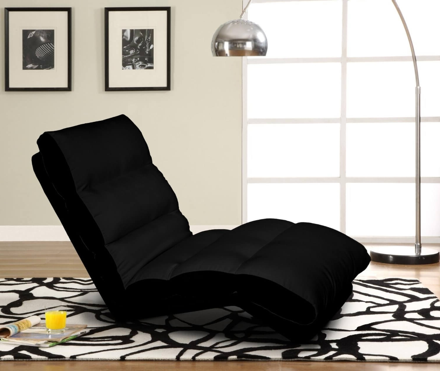 Convertible Chaises With Regard To Current Top 20 Types Of Black Chaise Lounges (Buying Guide) – (View 4 of 15)