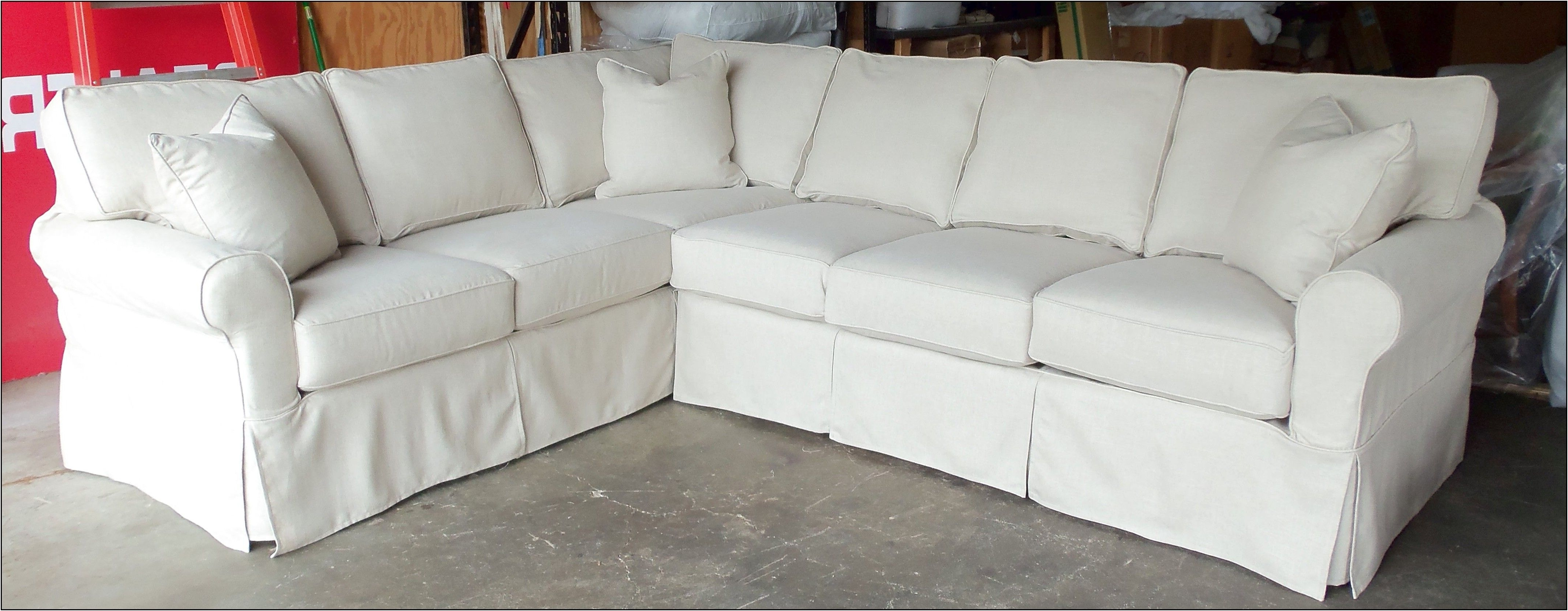 Cool Sectional Couch Cover , Best Sectional Couch Cover 72 For With Most Recent Slipcover Sectional Sofas With Chaise (View 12 of 15)
