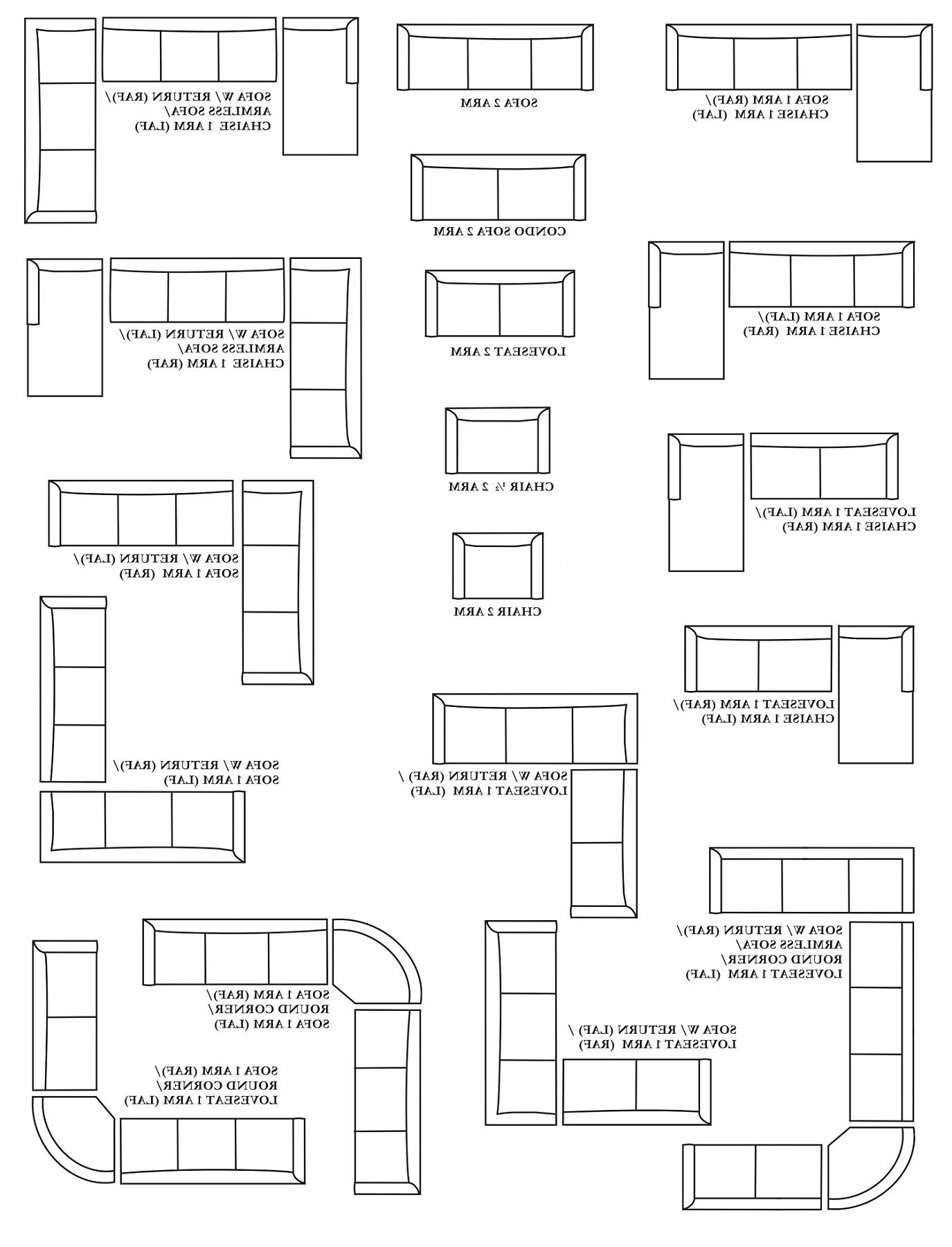 Corner Cuddler Sectional Sofa, Customizable Large Sectional Within Widely Used Customizable Sectional Sofas (View 2 of 15)