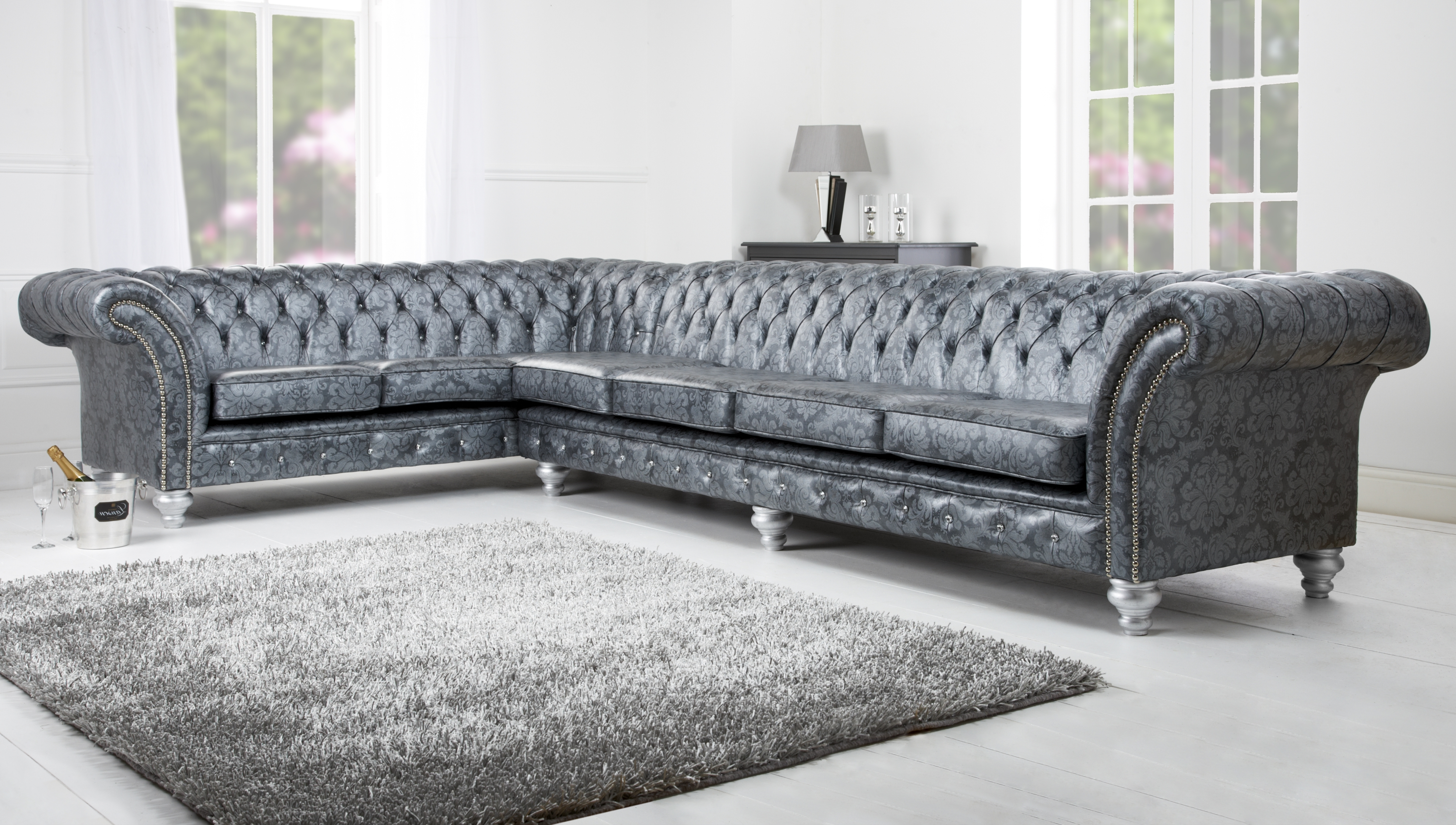 Corner Sofa – English Chesterfields With Regard To Favorite Corner Sofa Chairs (View 11 of 15)