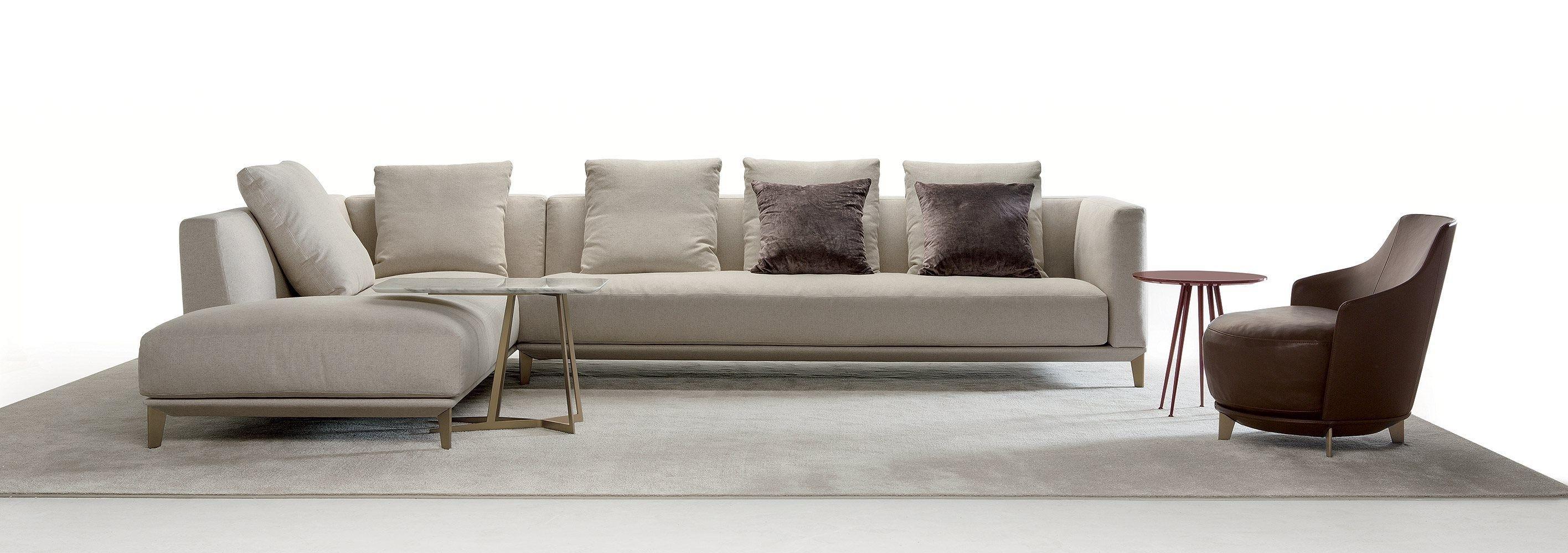 Corner Sofa / Modular / Contemporary / Fabric – Dylancastello Regarding 2017 Contemporary Fabric Sofas (View 4 of 15)