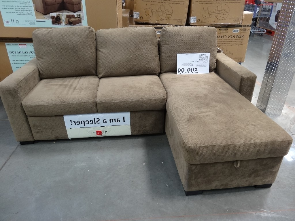 Costco Chaise Lounges Pertaining To Most Current Best Pulaski Sleeper Sofa Costco 86 For Sleeper Sofa With Chaise (View 2 of 15)