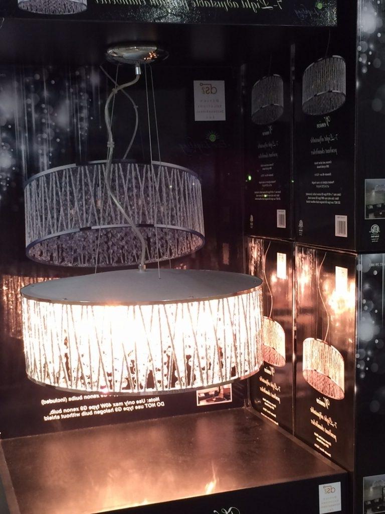 Costco Lighting Chandeliers For 2017 Chandelier ~ Chandelier : Lights Costco Moonraker Led Ceiling Light (View 2 of 15)