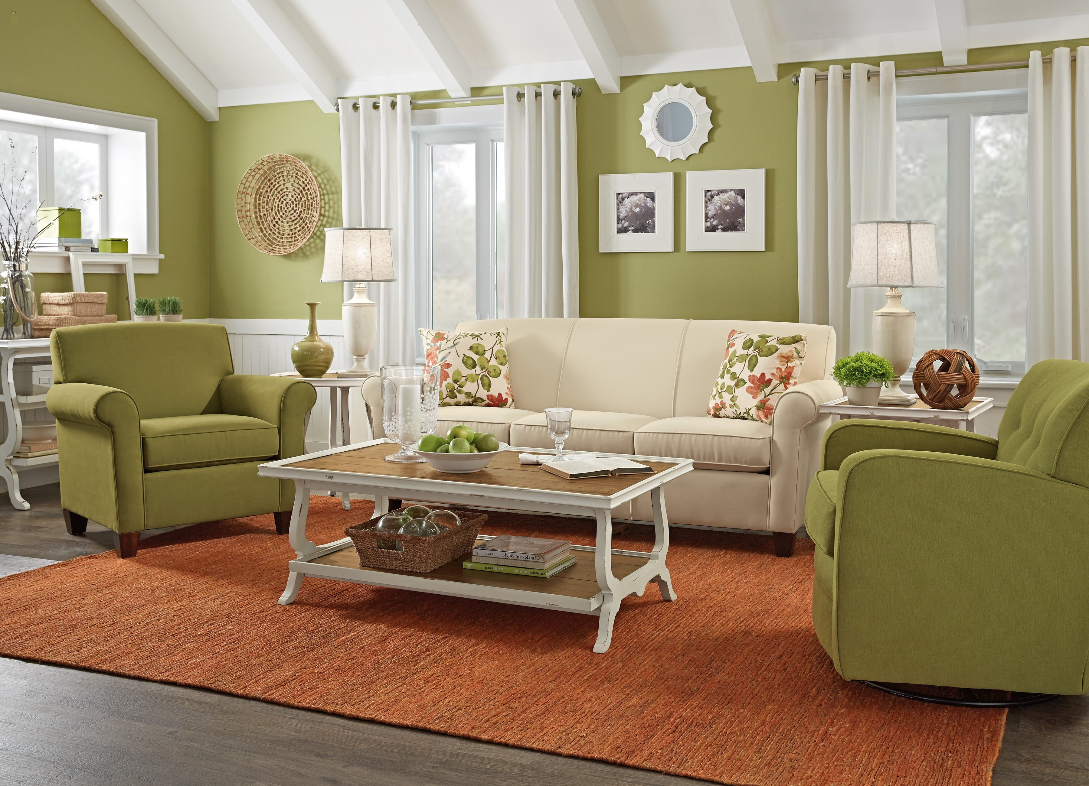 Cottage Style Sofas And Chairs Inside Most Popular Country Style Living Room Furniture Cottage Style Sofas Living (View 5 of 15)