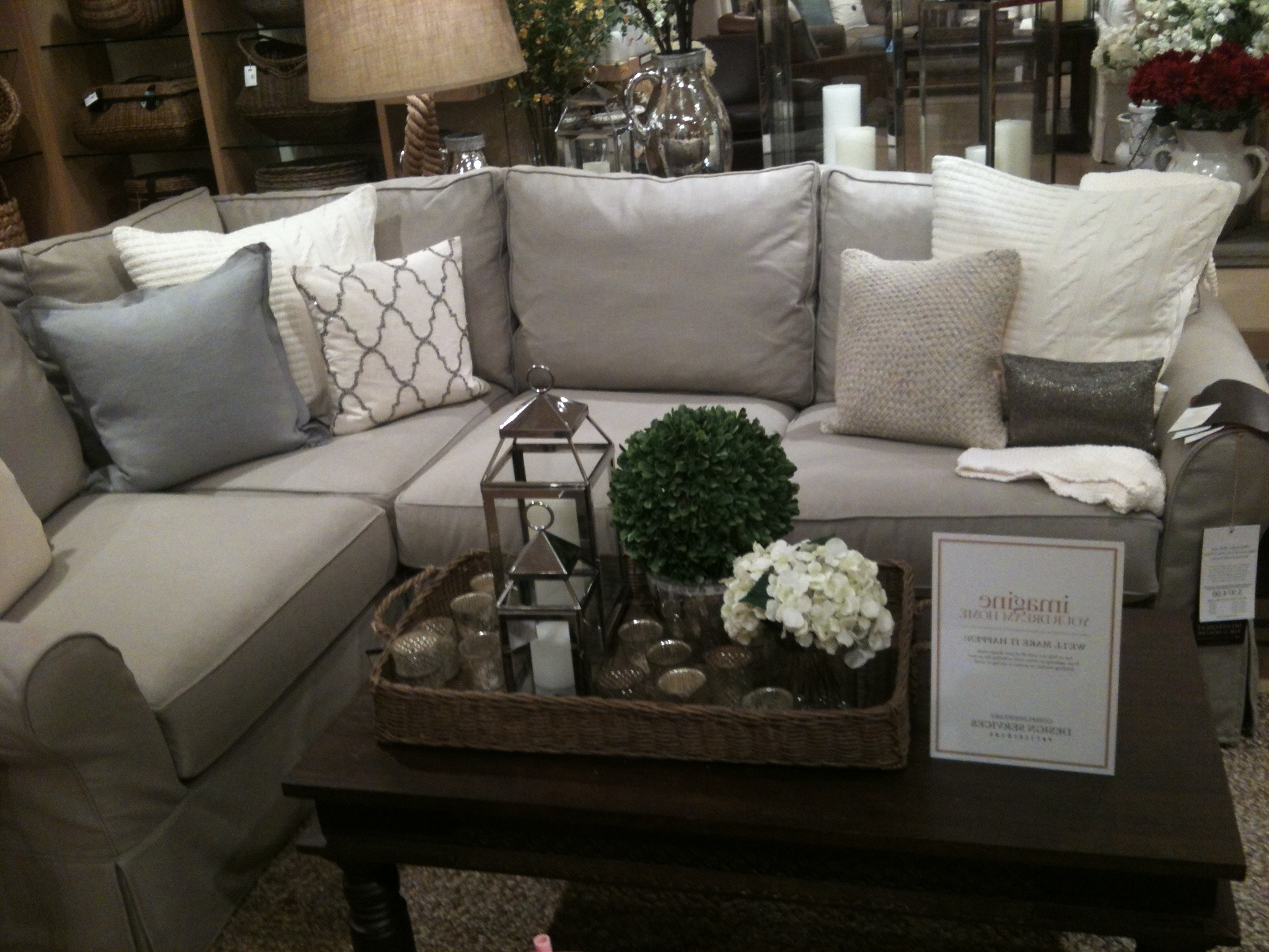 Cozy Sectional Sofas Pottery Barn 69 For Your Sectional Sofa With Pertaining To Most Popular Pottery Barn Chaises (View 8 of 15)