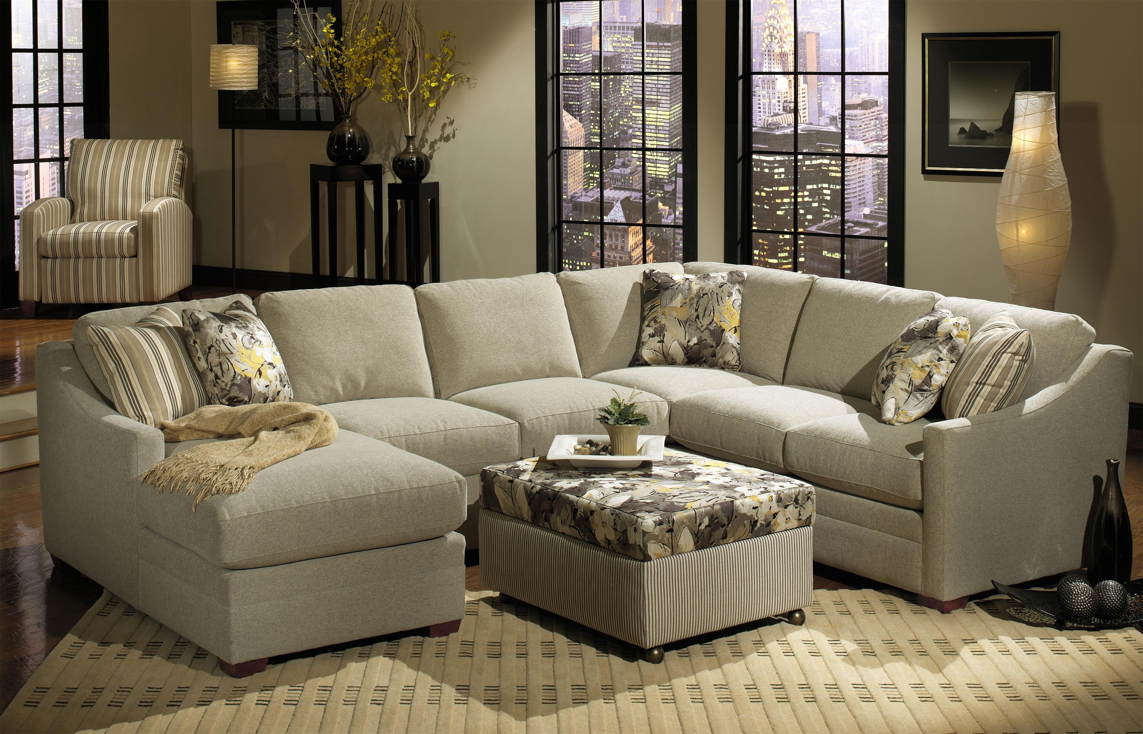 Craftsman Sectional Sofas Regarding Favorite Craftmaster F9 Custom Collection Customizable Three Piece (View 8 of 15)