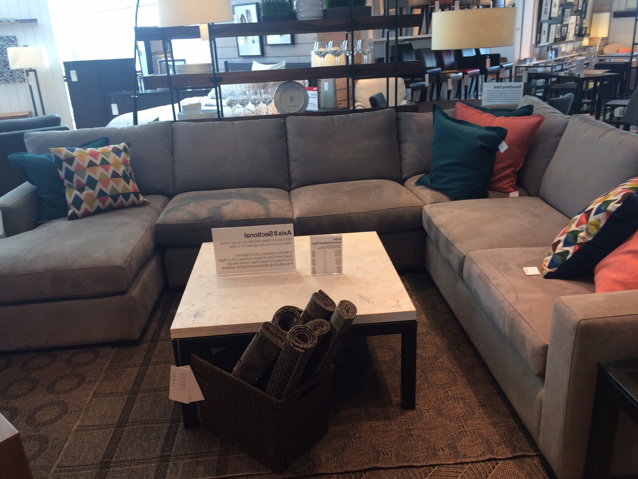 Crates, Barrels Within Crate And Barrel Chaises (View 14 of 15)