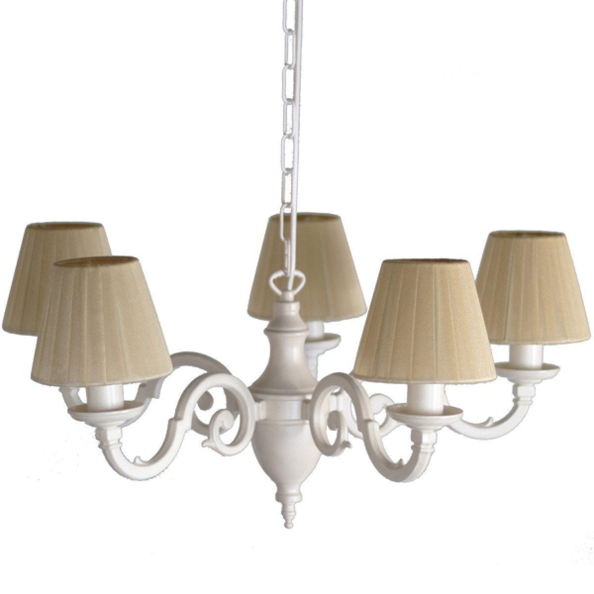 Cream Chandeliers Pertaining To Well Known Bedroom Light Fitting Chandelier (View 5 of 15)