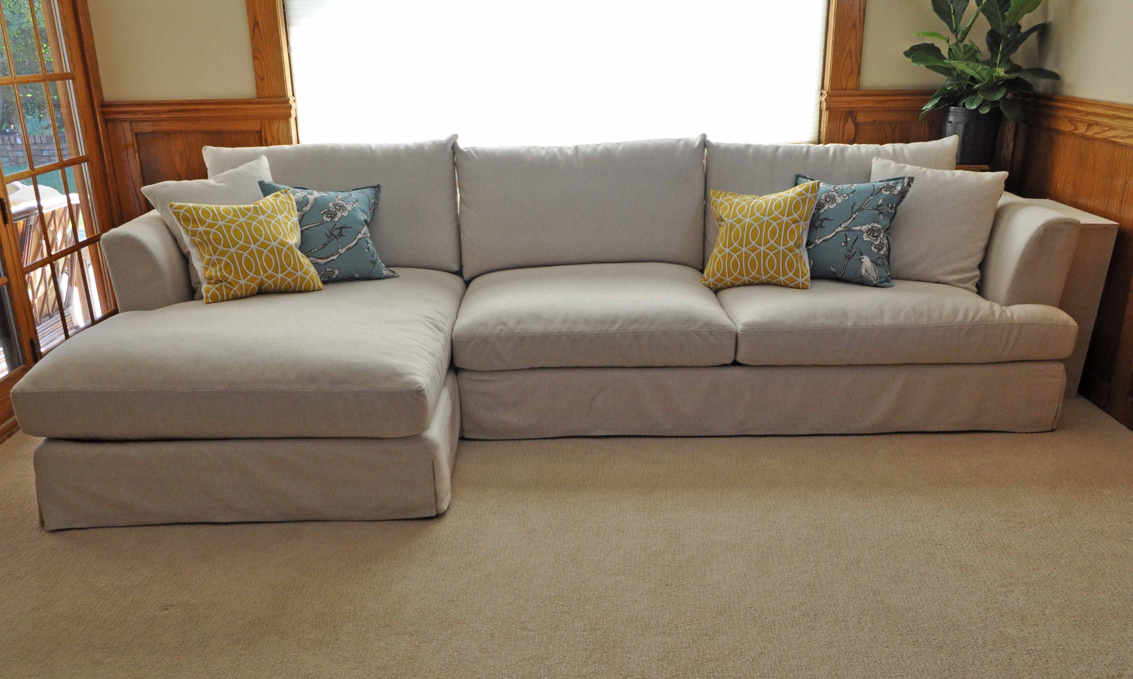 Cream Colored Sofas With Regard To Famous Sleeper Sofa : Comfy Cream Sofa Beige Couch Decor Cream Leather (View 8 of 15)