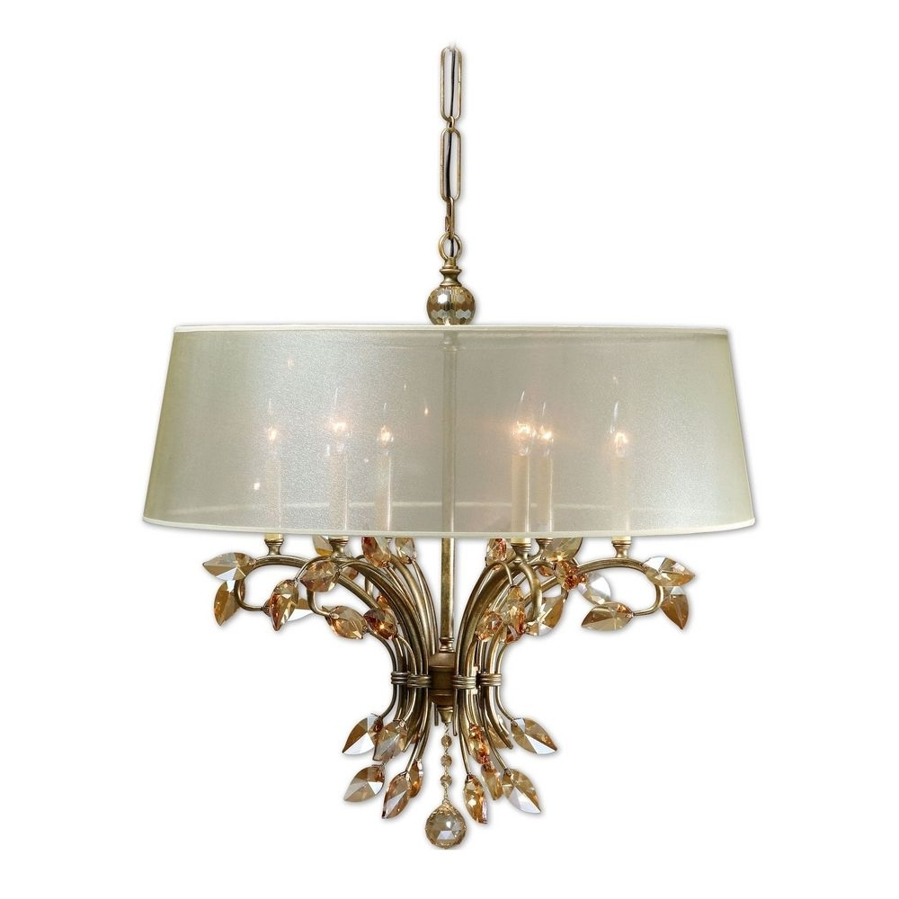 Cream Gold Chandelier – Musethecollective Inside Famous Cream Gold Chandelier (View 2 of 15)