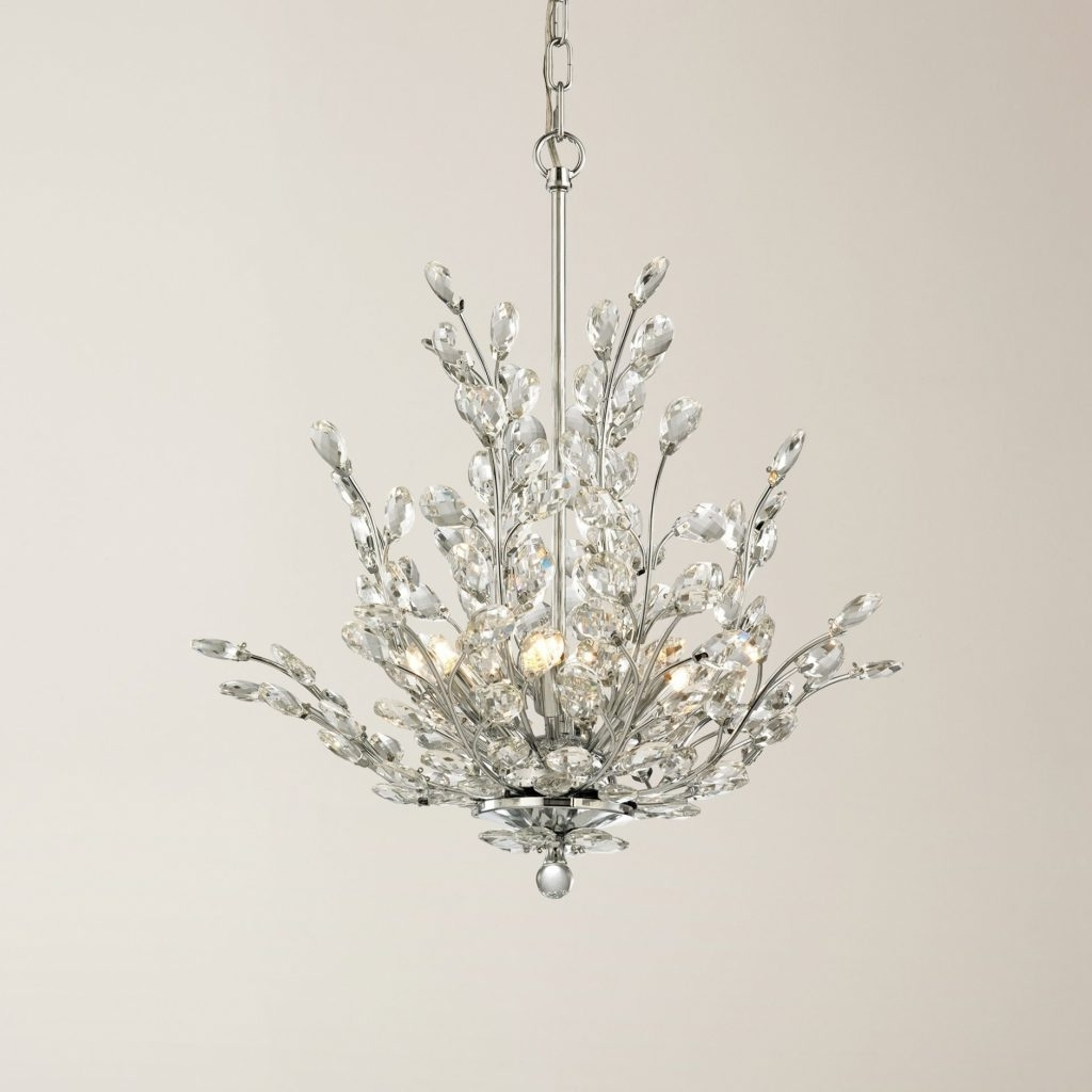 Crystal Branch Chandelier With Most Recent Chandelier ~ 15 Collection Of Crystal Branch Chandelier (View 6 of 15)