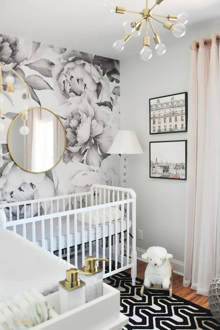 Crystal Chandeliers For Baby Girl Room Inside Best And Newest Chandeliers Design : Marvelous Crystal Chandelier Baby Girl Room (View 5 of 15)