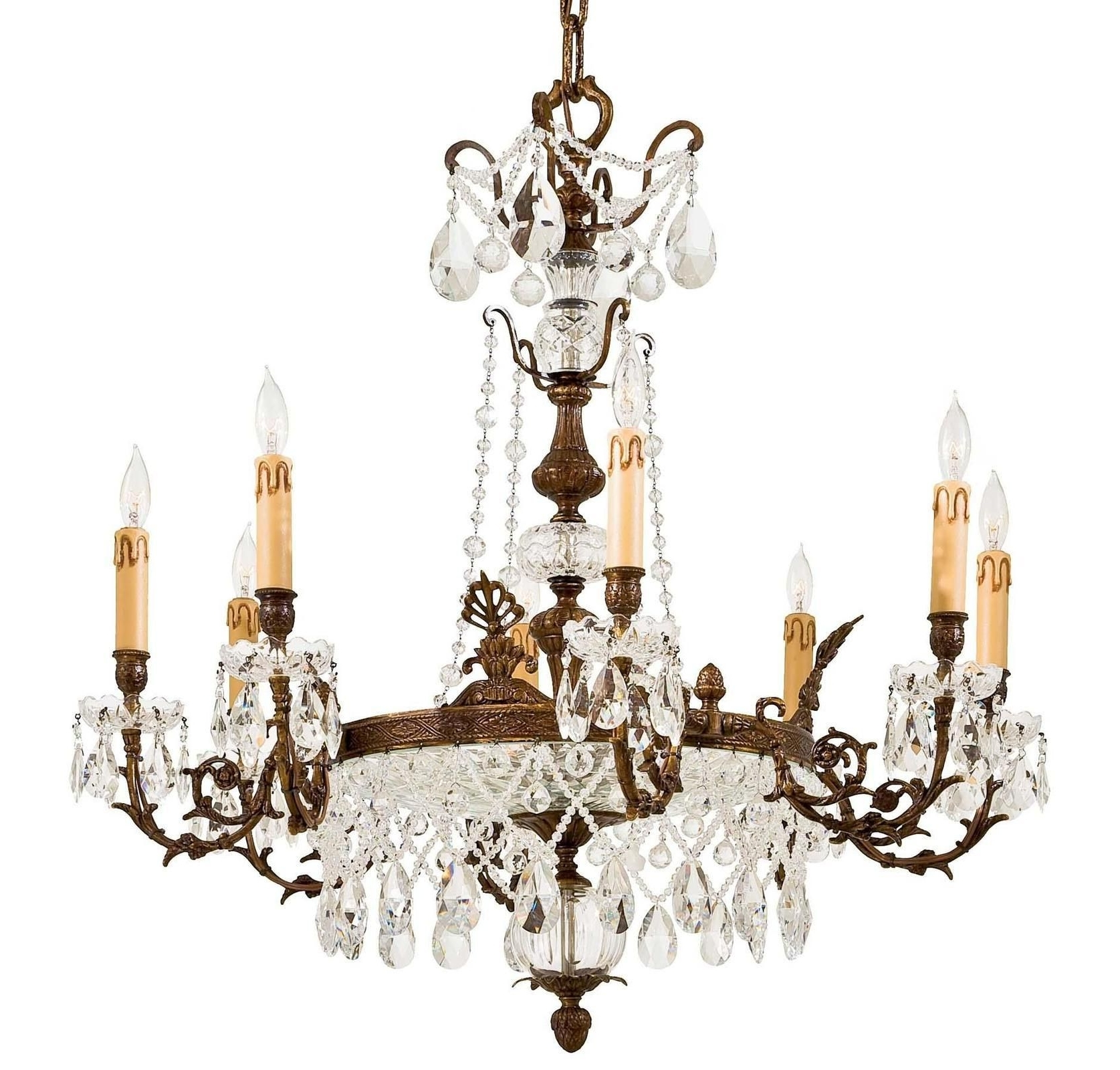 Crystal Gold Chandeliers With 2017 Crystal Chandelier – Metropolitan ( Chandeliers Crystal Antique (View 4 of 15)