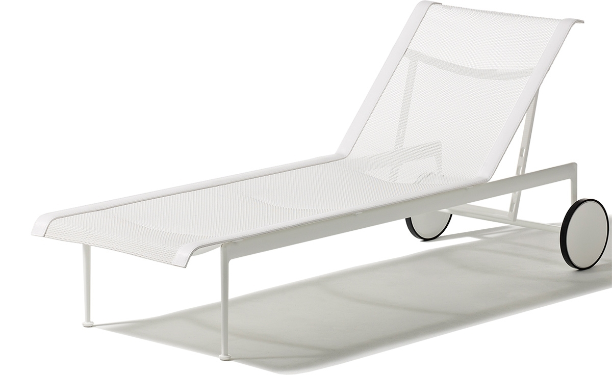 Current Adjustable Chaise Lounges With Schultz Adjustable Chaise Lounge – Hivemodern (View 9 of 15)