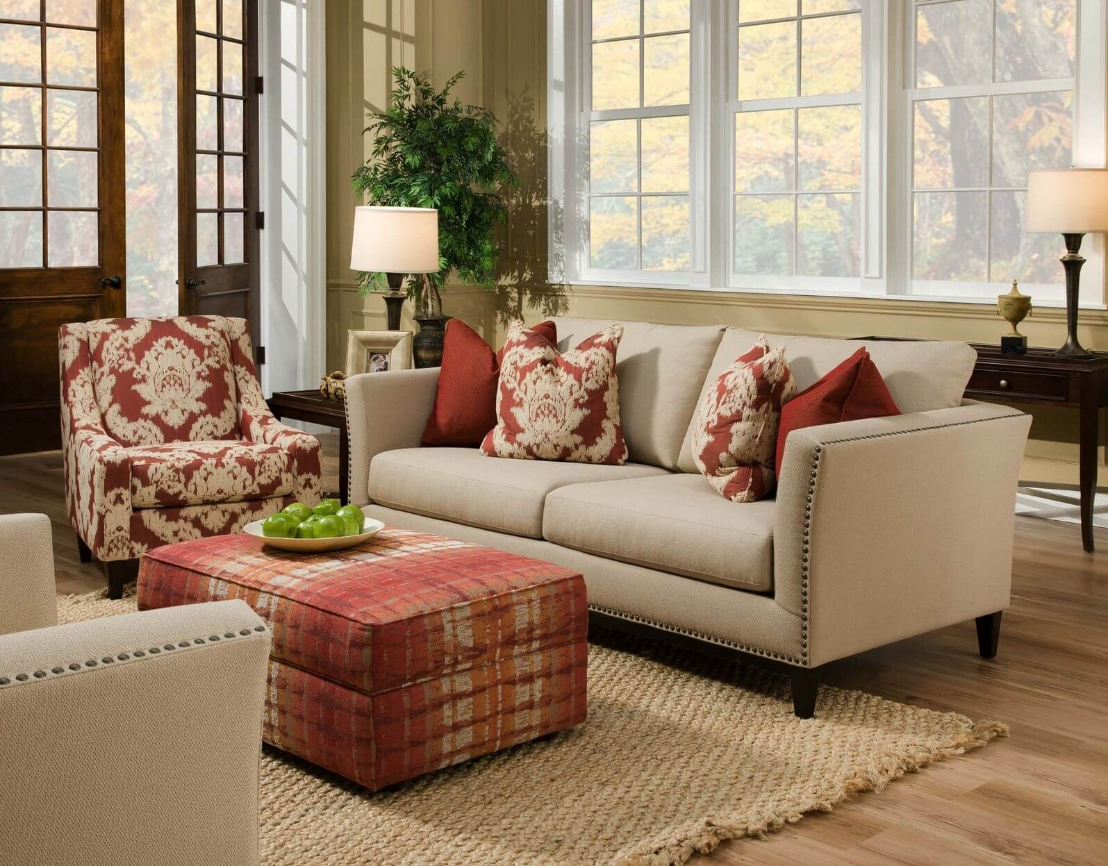 Current Beige Sofa Decor Ideas — Radionigerialagos Within Colorful Sofas And Chairs (View 5 of 15)