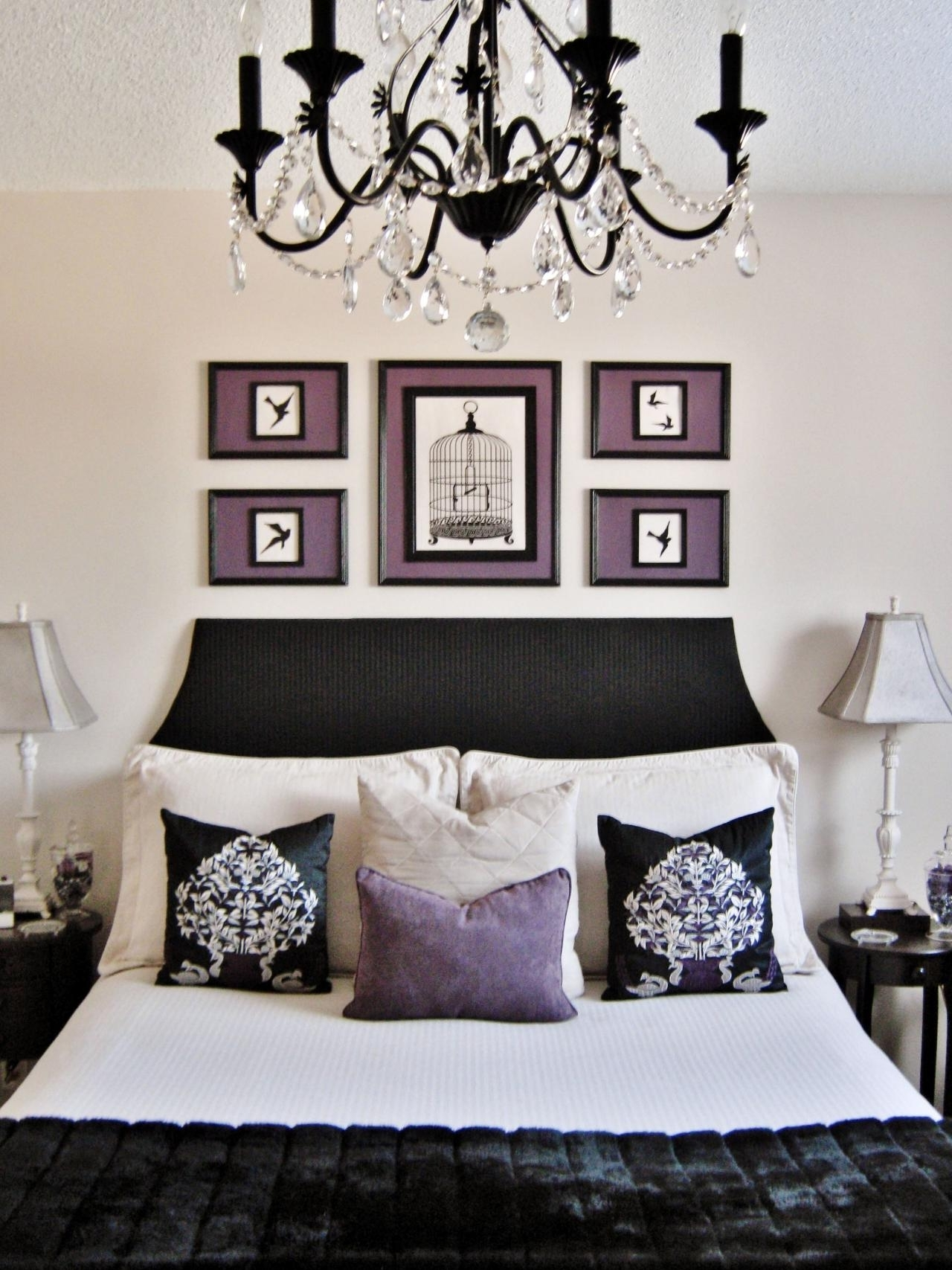 Current Black Chandelier Bedroom In Chandelier (View 9 of 15)