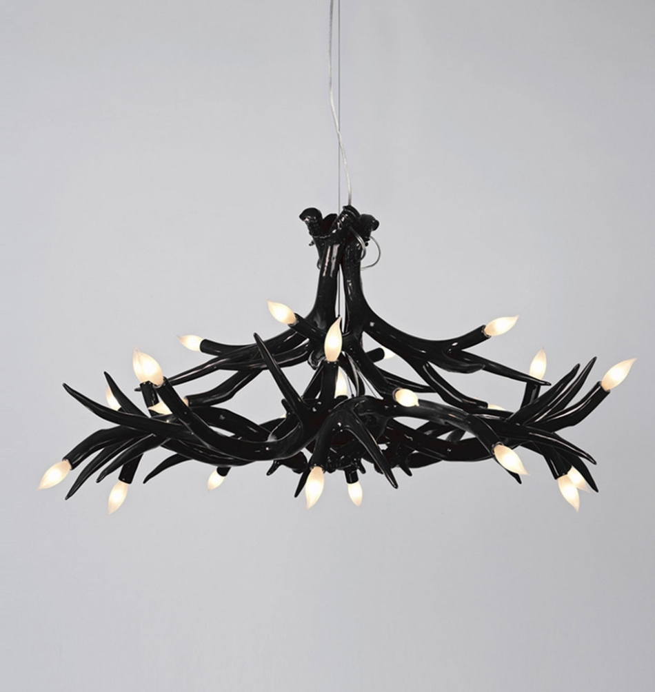 Current Black Contemporary Chandelier With Regard To Chandelier ~ Chandelier : Chandelier Contemporary Chandeliers For (View 5 of 15)