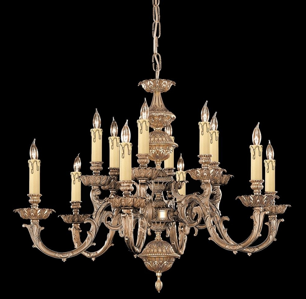 Current Candle Chandelier Regarding Buy Solid Brass Candle Chandelier (View 7 of 15)