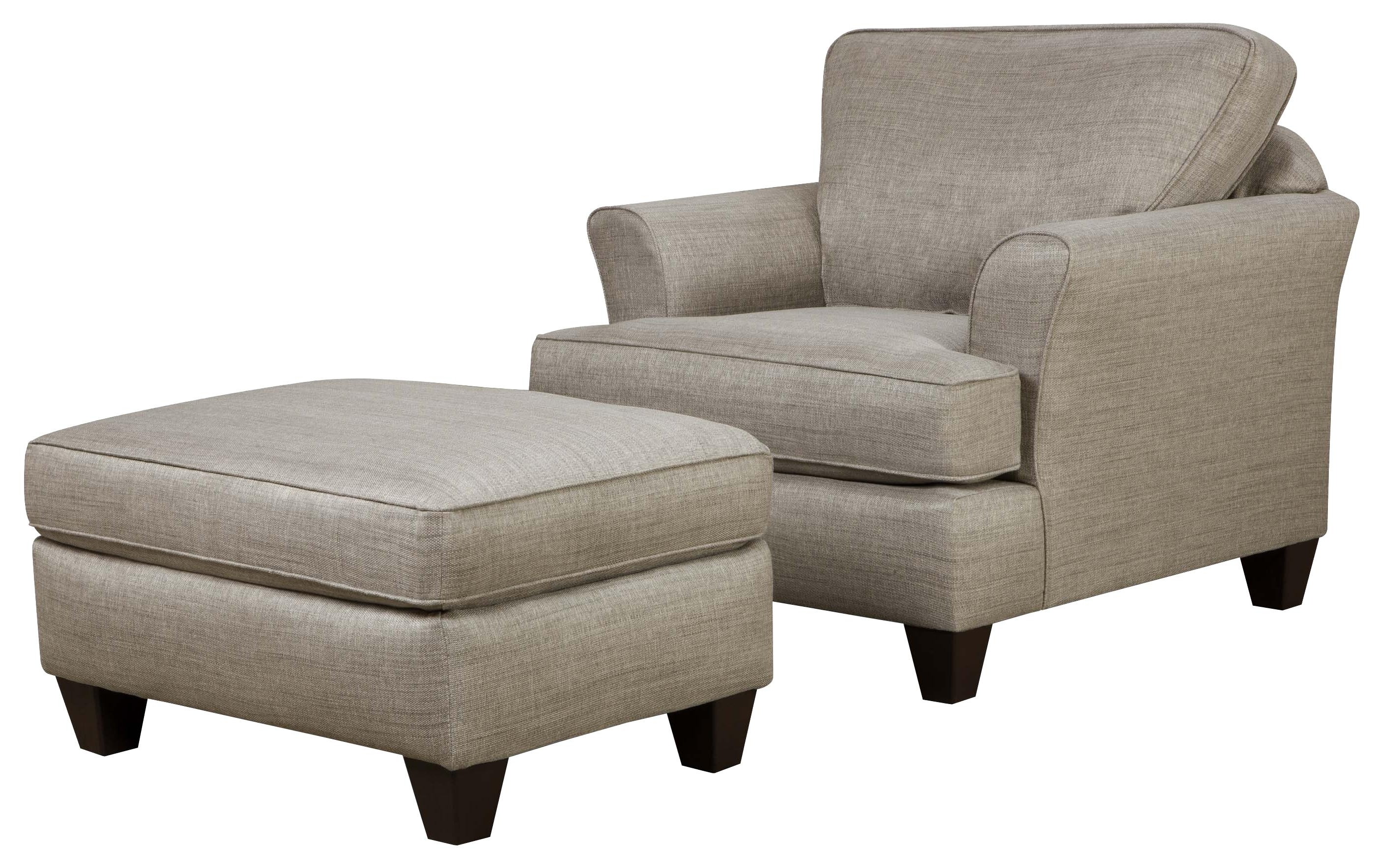 Current Chairs With Ottoman With Lounge Chair With Ottoman Leather Recliners On Sale Living Room (View 2 of 15)