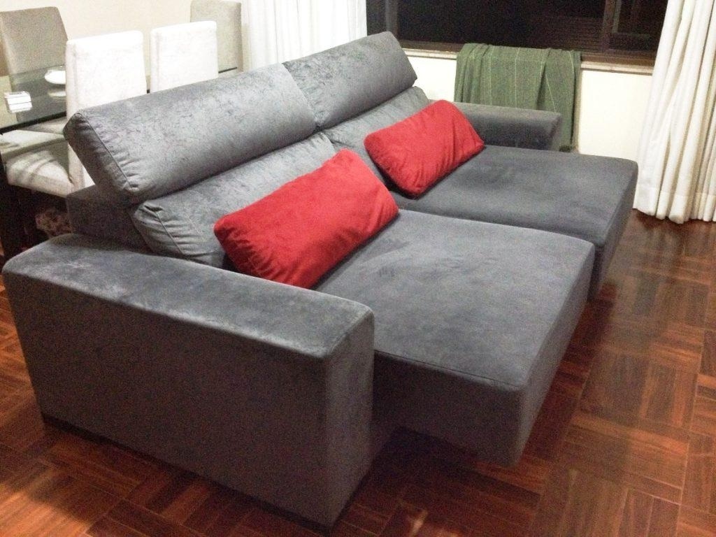 Current Chaise Loveseats Regarding Loveseat With Chaise Lounge – Loveseat Chaise Lounge Sofa (View 3 of 15)
