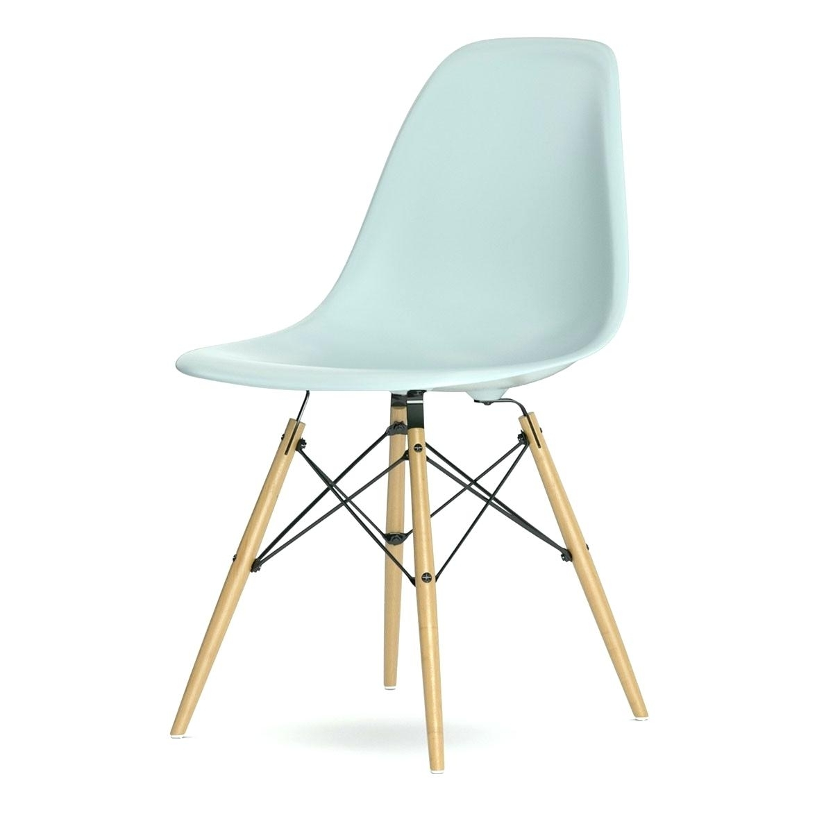 Current Chaises Dsw For The Dining Height Side Chair Wood Base Charles And Pertaining To Eames Chaises (View 12 of 15)