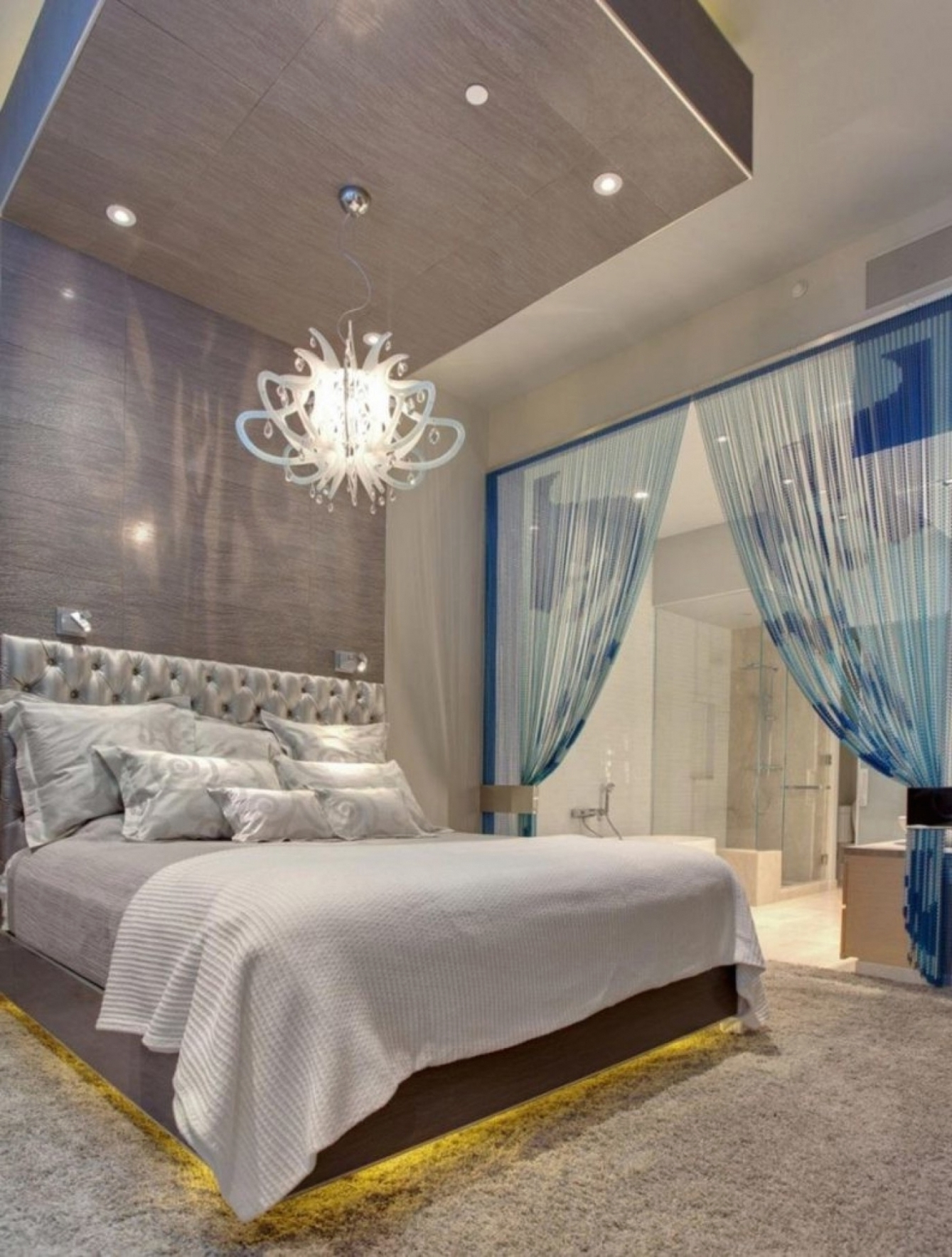 Current Chandeliers In The Bedroom For Home Decor: Photos Of Chandeliers In Bedrooms Chandelier Size For (View 10 of 15)