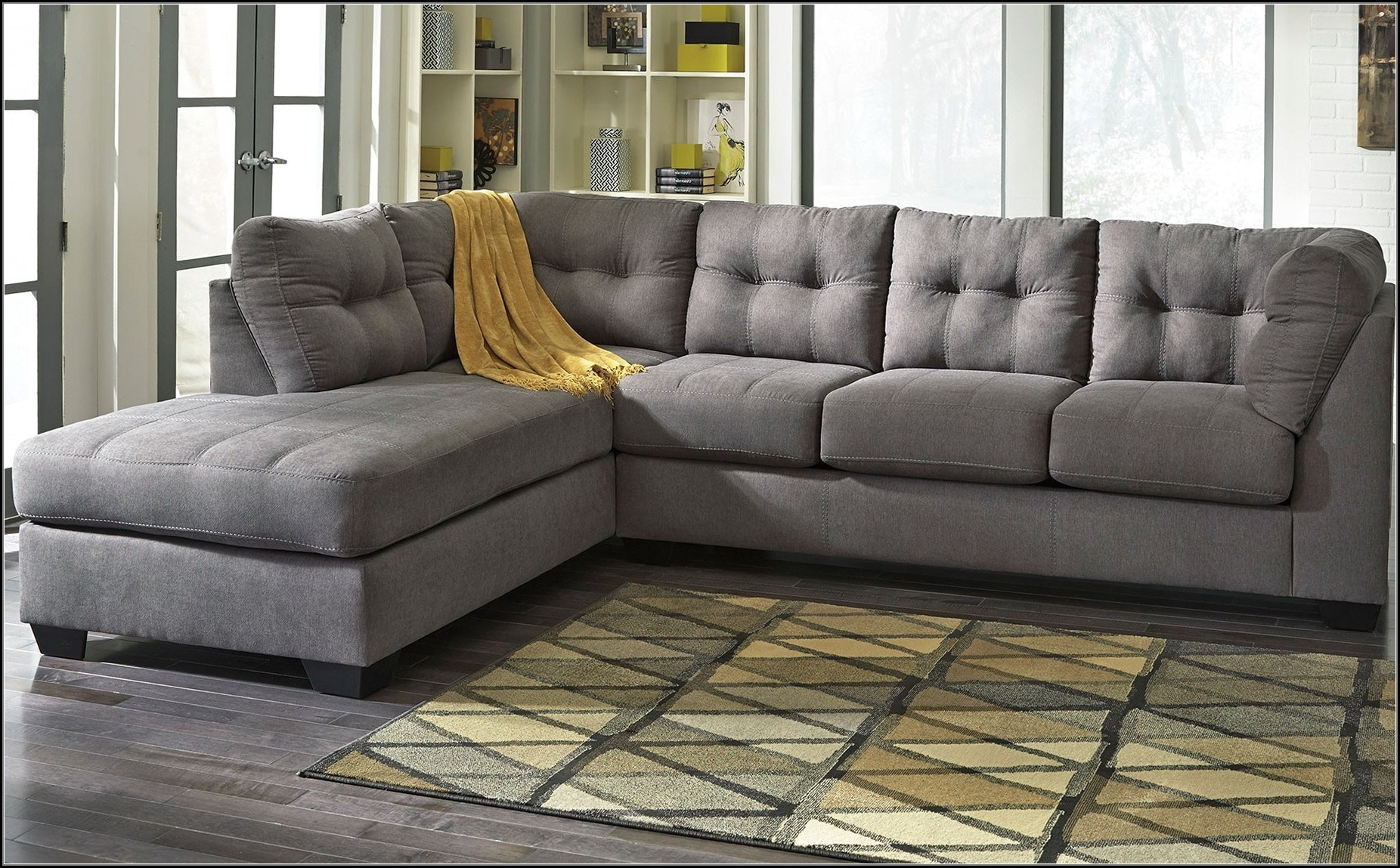 Current Charcoal Gray Sectional Sofas With Chaise Lounge Within Remarkable Charcoal Gray Sectional Sofa With Chaise Lounge 77 For (View 3 of 15)
