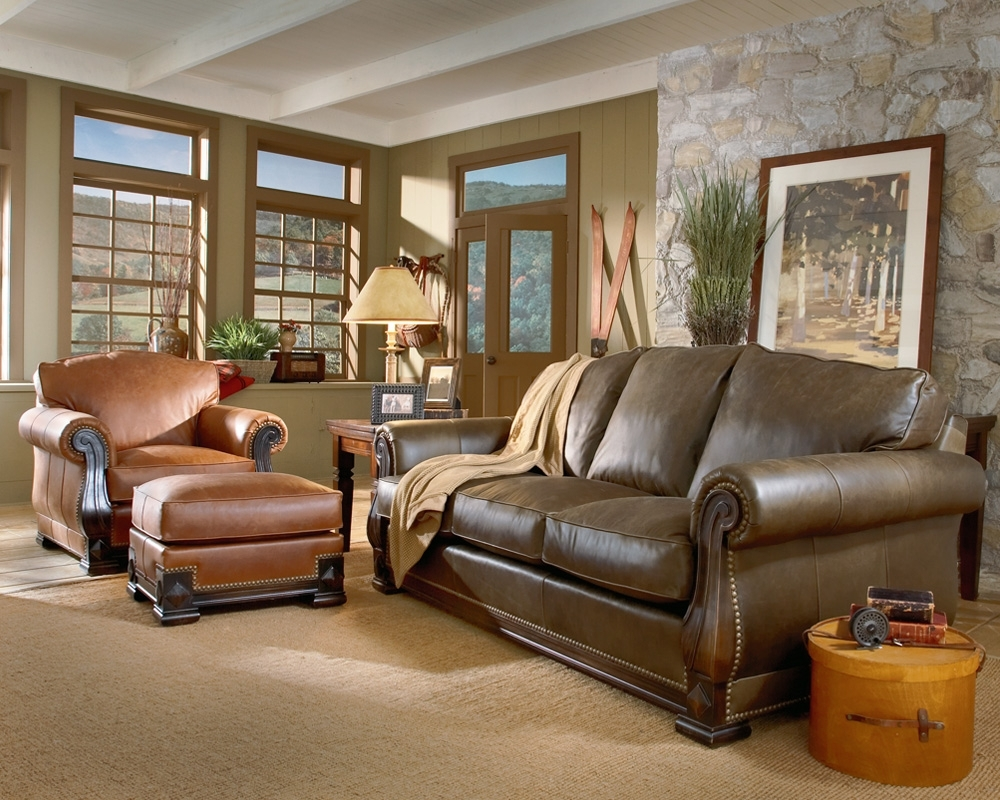 Current Colorful Sofas And Chairs Pertaining To Mixing Leather Colors Is Perfectly Fine (View 9 of 15)