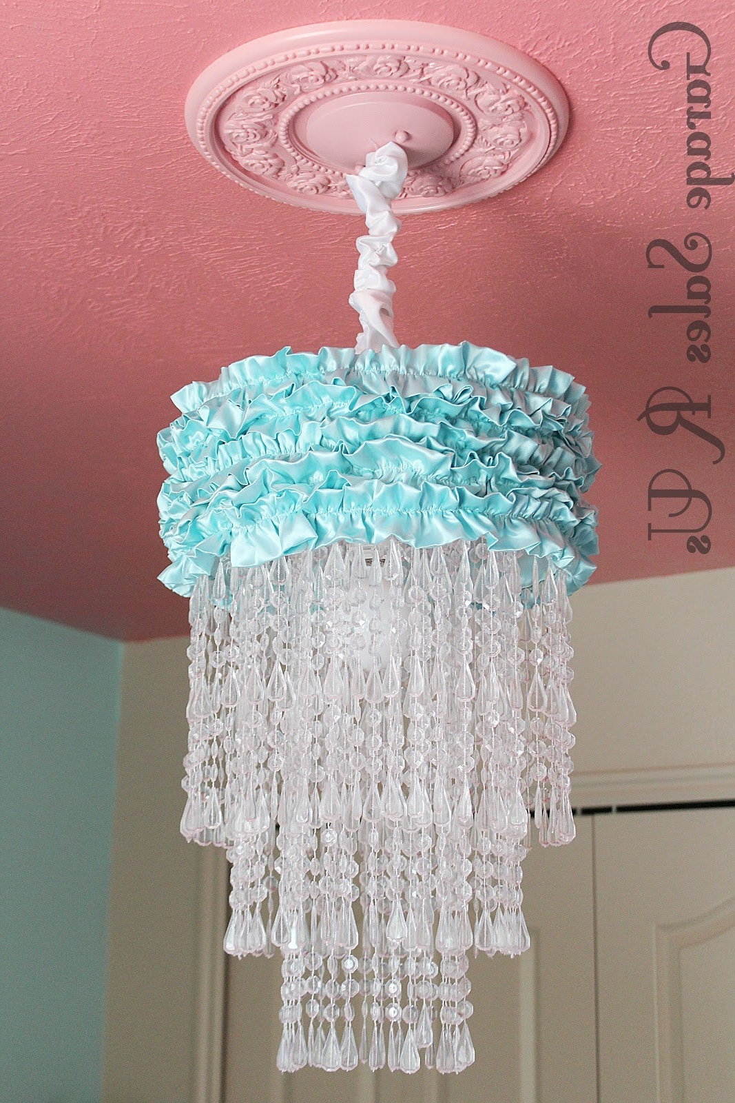 Current Diy Turquoise Beaded Chandeliers With Regard To 25 Diy Chandelier Ideas (View 2 of 15)