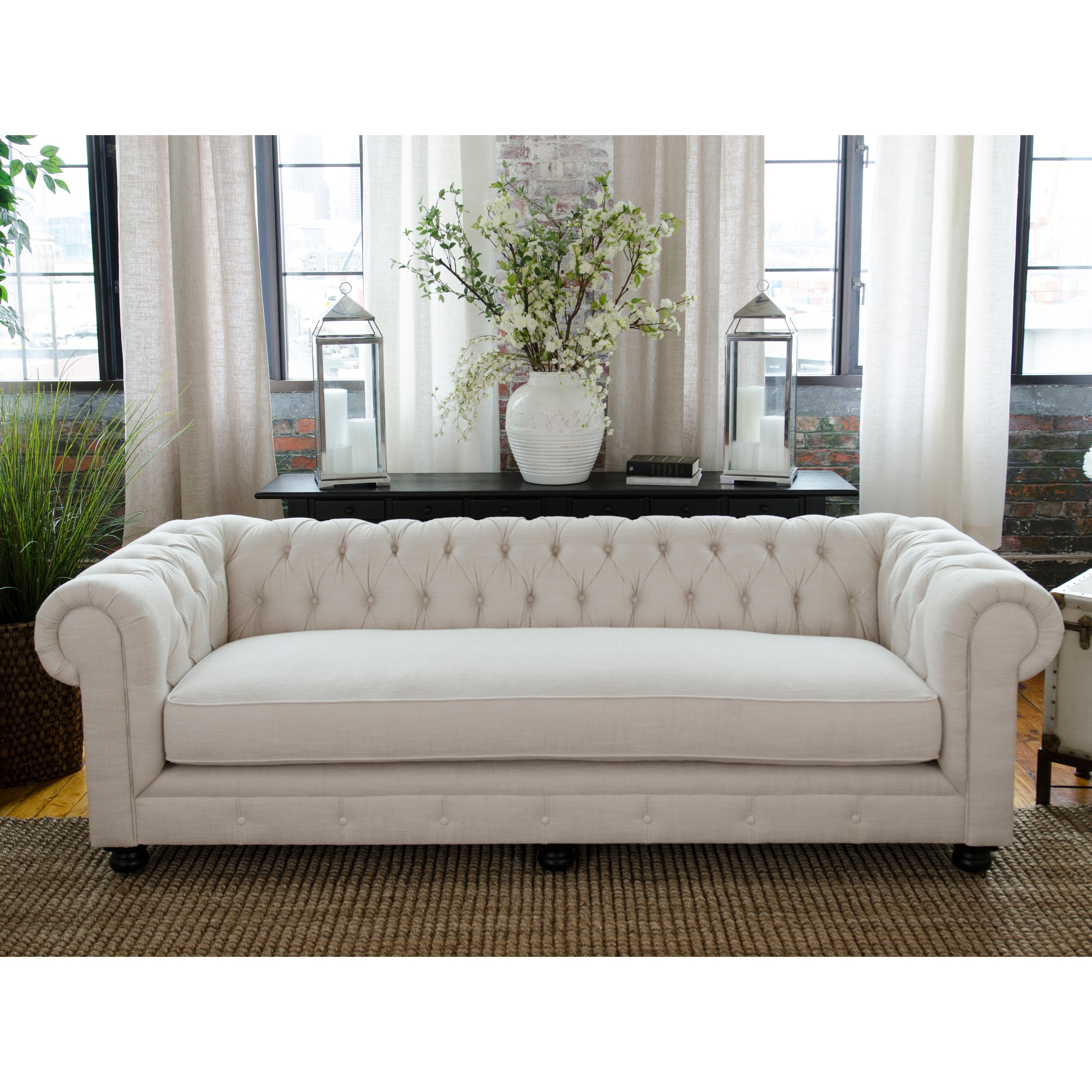 Current Elements Fine Home Estate Fabric Sofa (View 2 of 15)