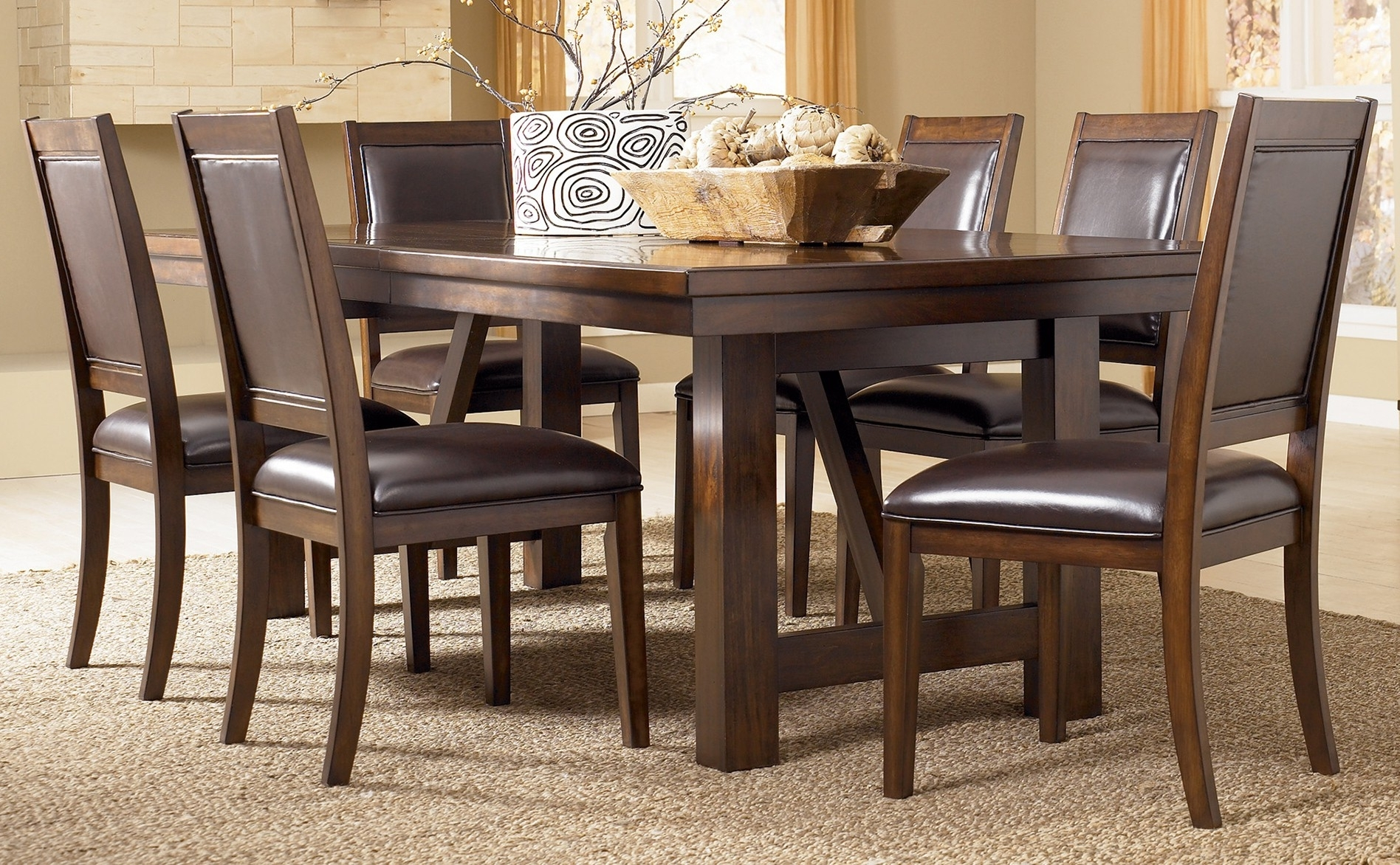 Current Emejing Ashleys Furniture Dining Tables Photos – Liltigertoo Throughout Sofa Chairs With Dining Table (View 2 of 15)