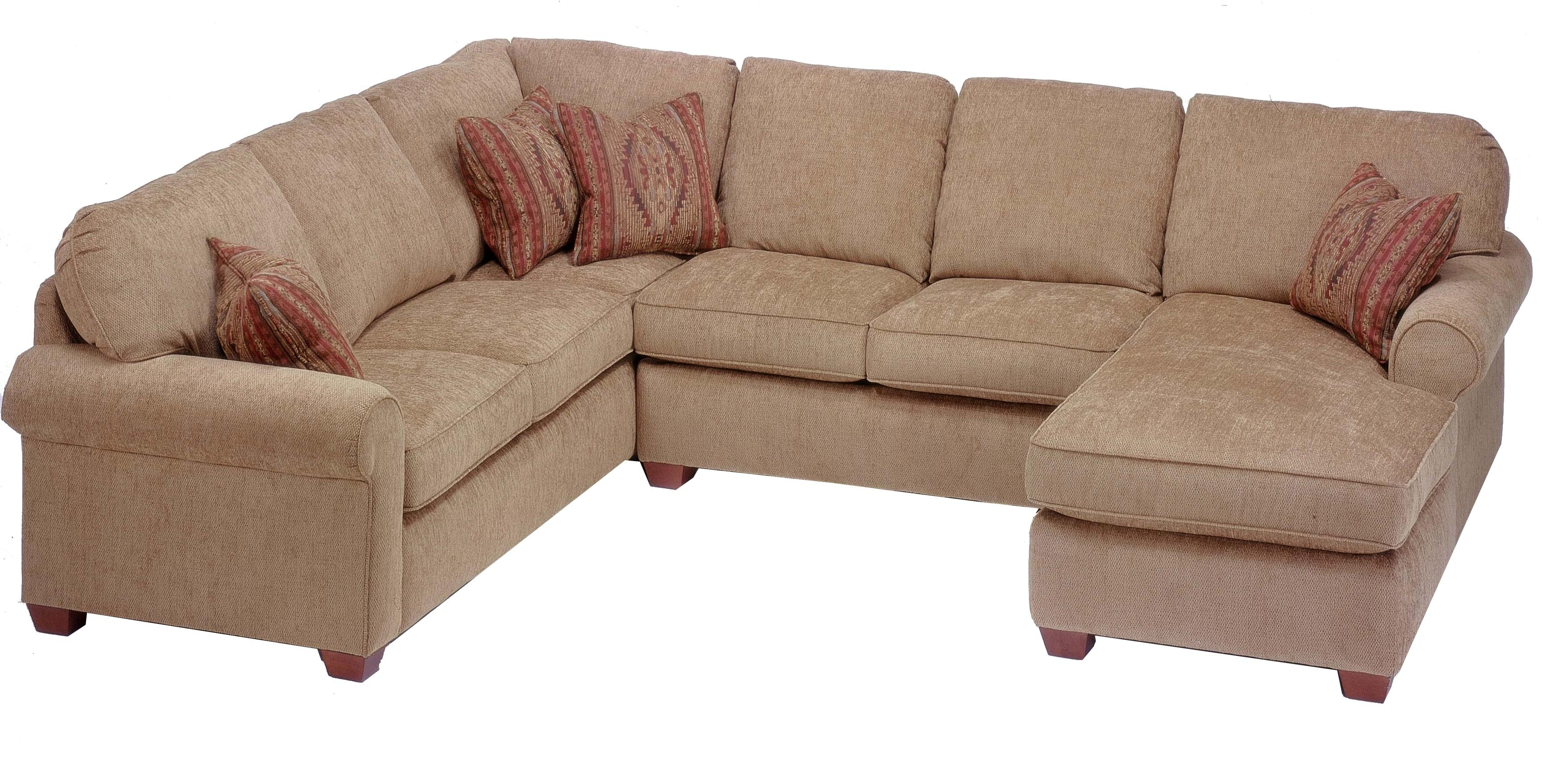 Current Flexsteel Thornton 3 Piece Sectional With Chaise – Ahfa – Sofa For Sectional Sofas At Buffalo Ny (View 1 of 15)