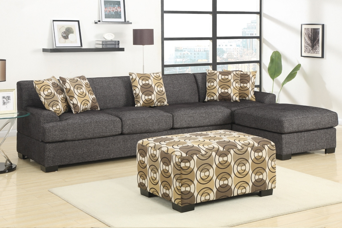 Current Hayward Ash Black Sectional Sofa With Right Facing Chaise At Gowfb In Sectional Sofas At Bc Canada (View 8 of 15)