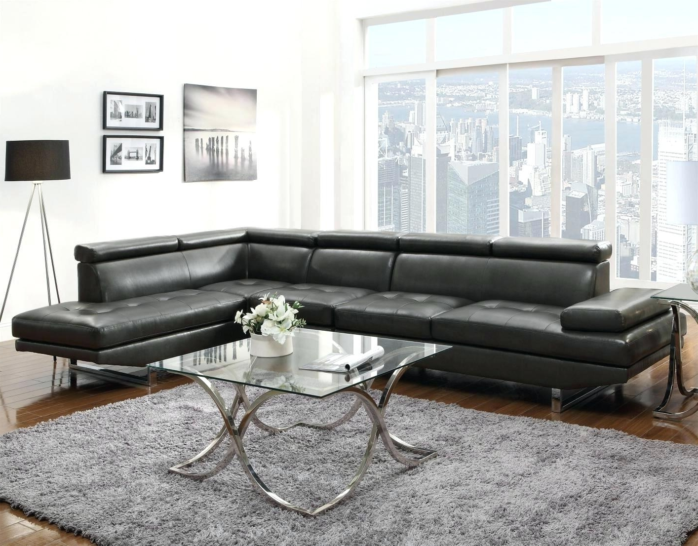 Current Leather Sectional Sofas – Stepdesigns With Memphis Tn Sectional Sofas (View 8 of 15)