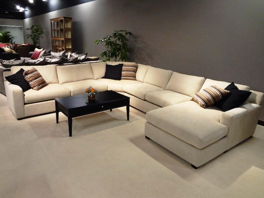 Current Leather U Shaped Sectional Sofa Clearance : The Ultimate U Shaped Throughout U Shaped Leather Sectional Sofas (View 8 of 15)