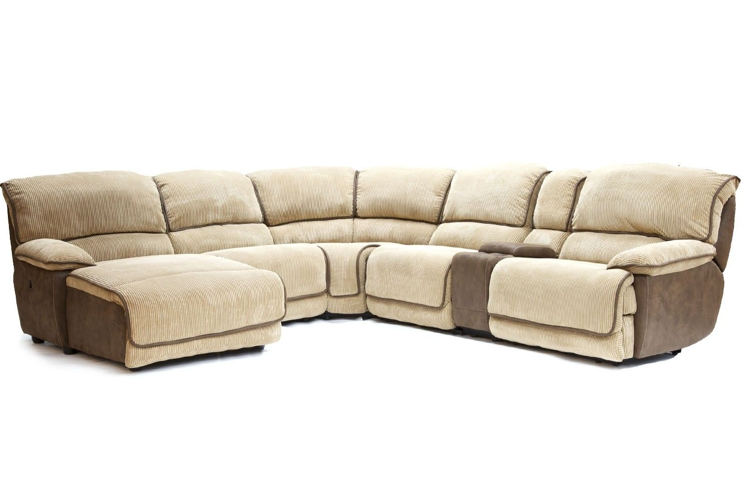 Current Mor Furniture For Less: The Austin Cafe Reclining Living Room Inside Sectional Sofas At Austin (View 4 of 15)