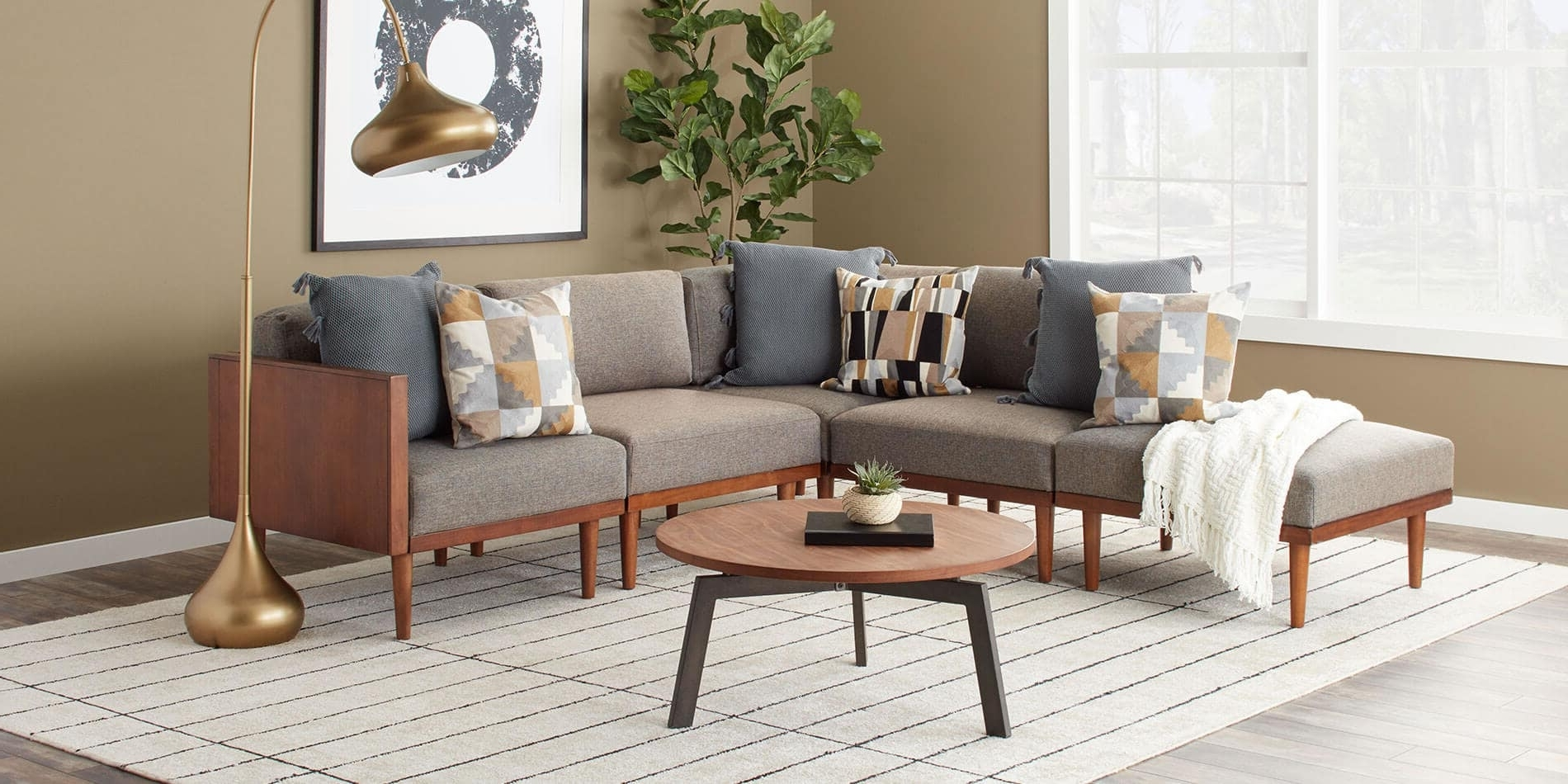 Current Nh Sectional Sofas Pertaining To Kitchen : Living Room Cm6156Gy Sect Sectional Best Couchesk For (View 4 of 15)